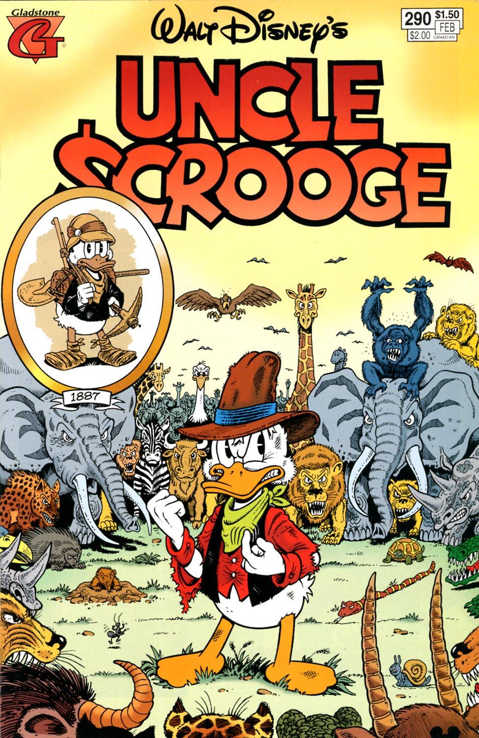 Read online Uncle Scrooge (1953) comic -  Issue #290 - 1