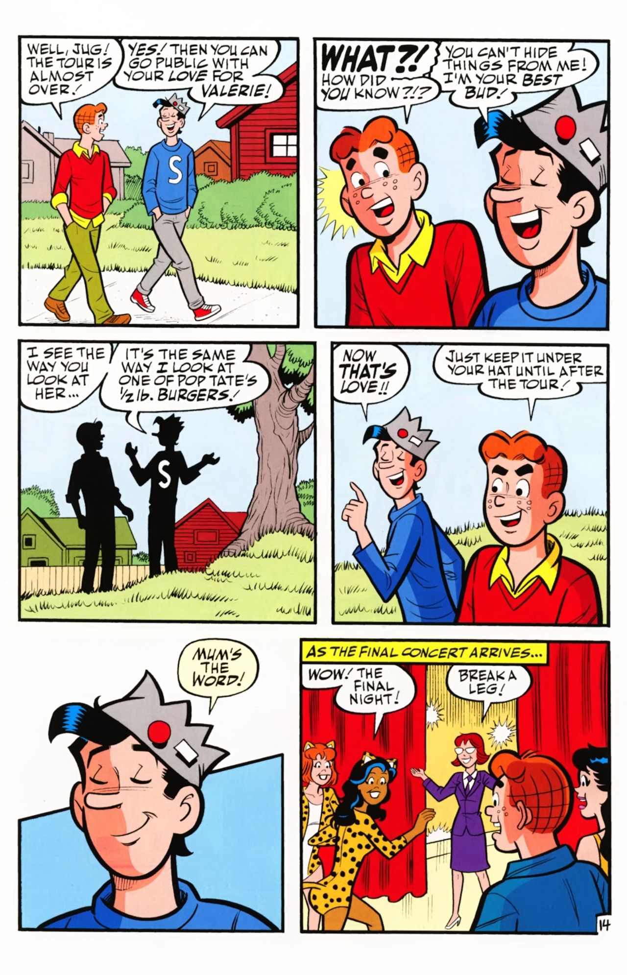 Read online Archie (1960) comic -  Issue #609 - 22