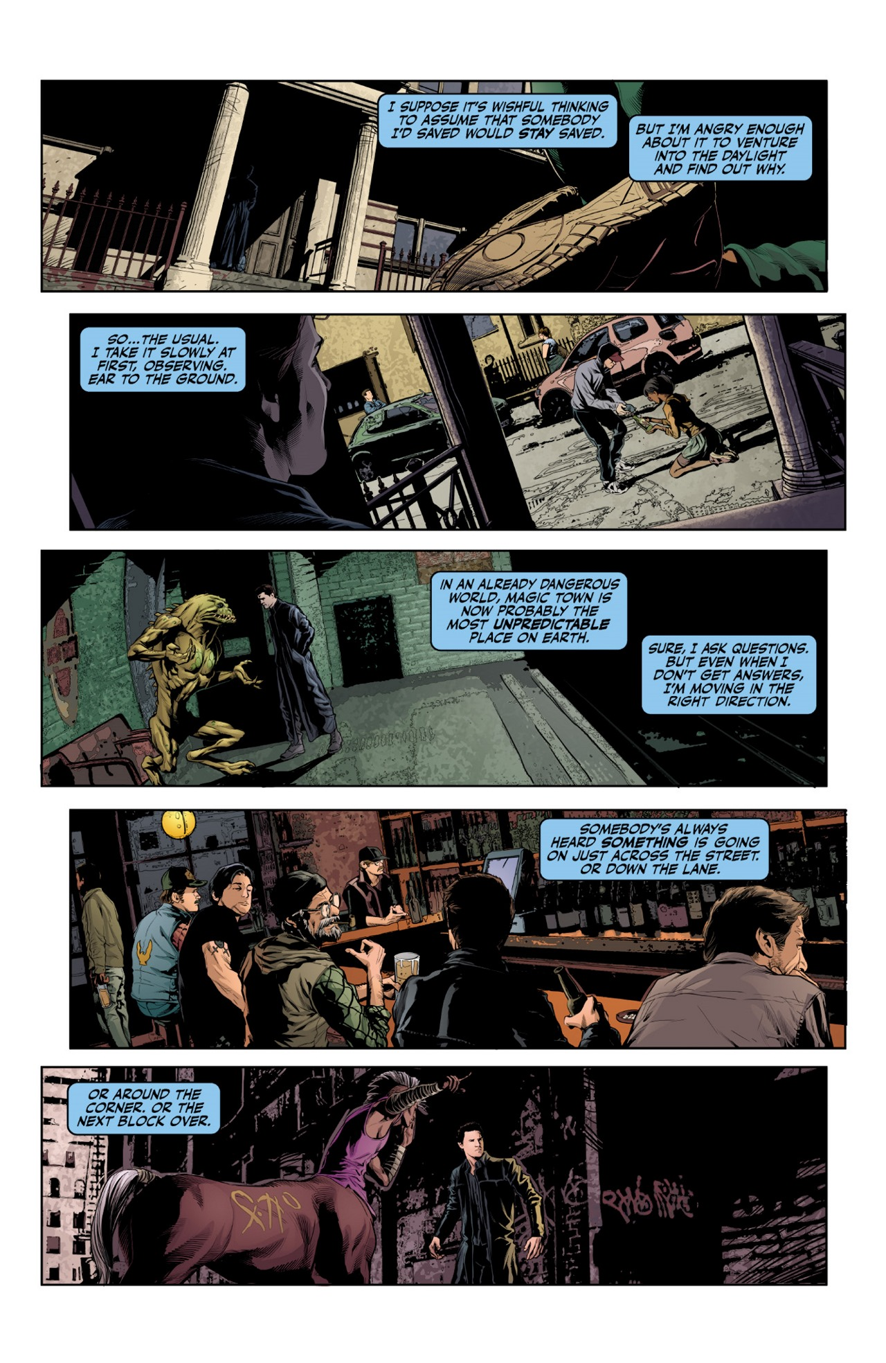 Read online Angel & Faith Season 10 comic -  Issue #1 - 20