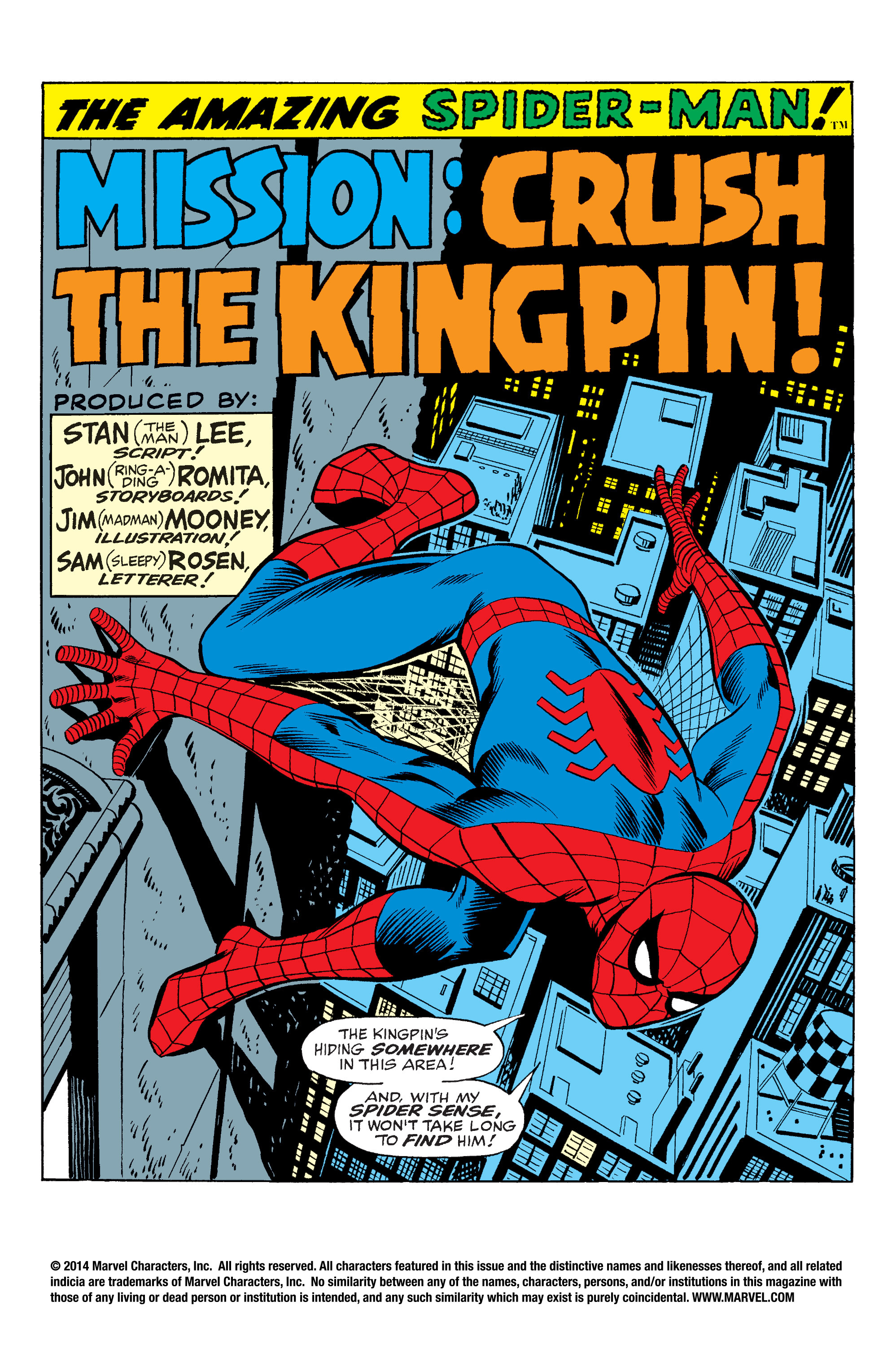 The Amazing Spider-Man (1963) 69 Page 1