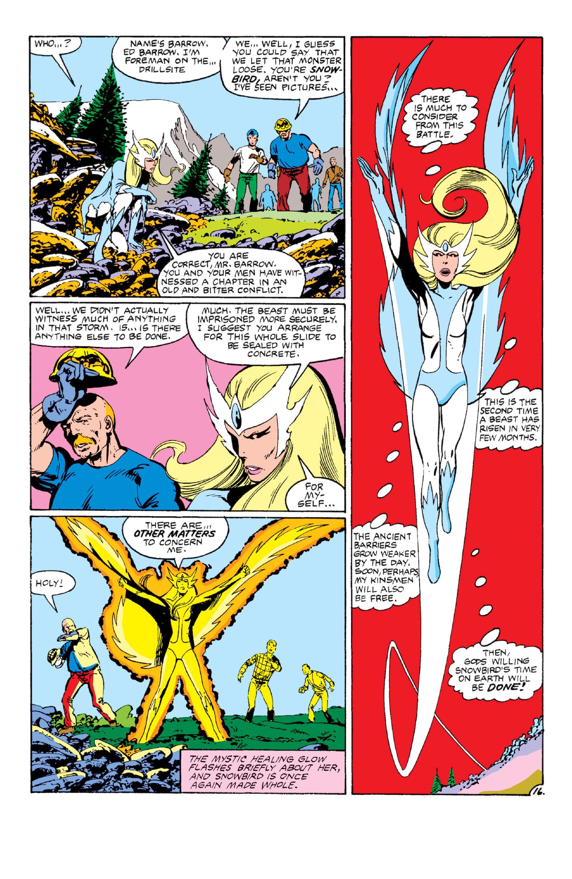 Read online Alpha Flight (1983) comic -  Issue #6 - 16