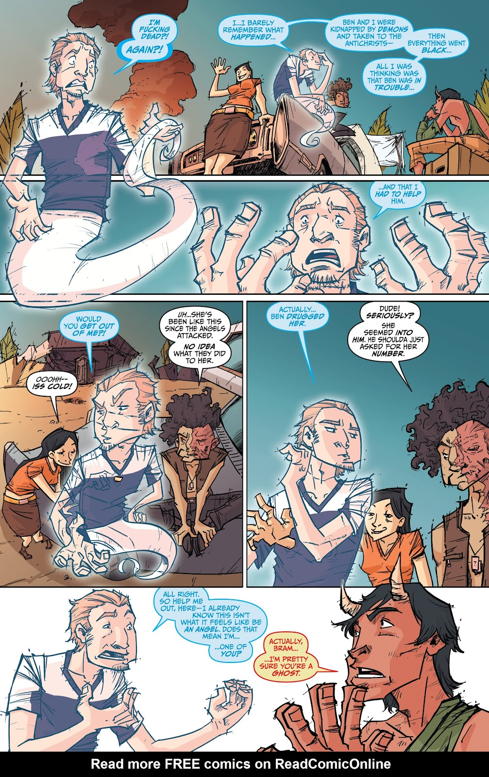 Read online The End Times of Bram and Ben comic -  Issue #4 - 11