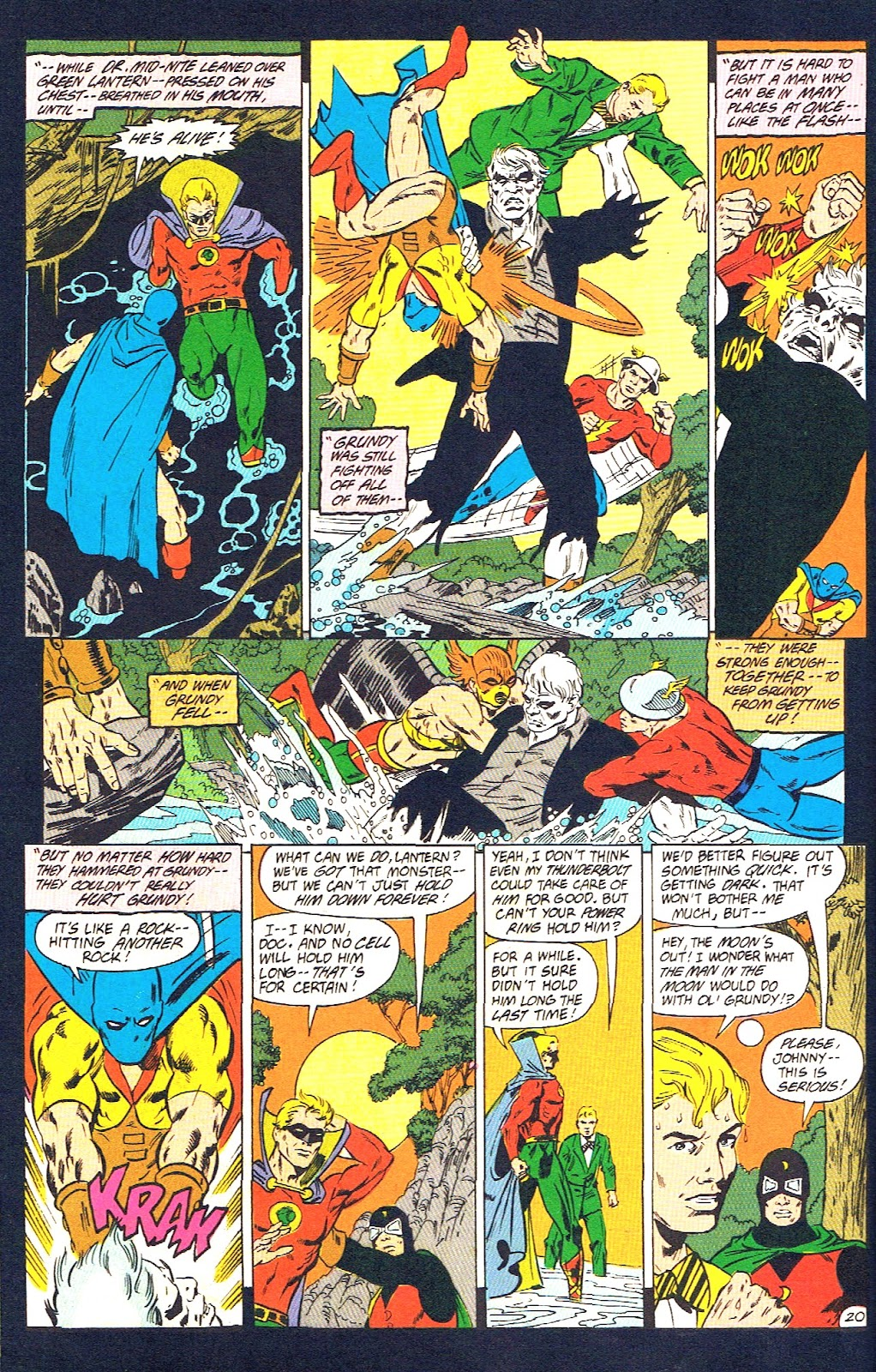 Infinity Inc. (1984) issue 39 - Page 22