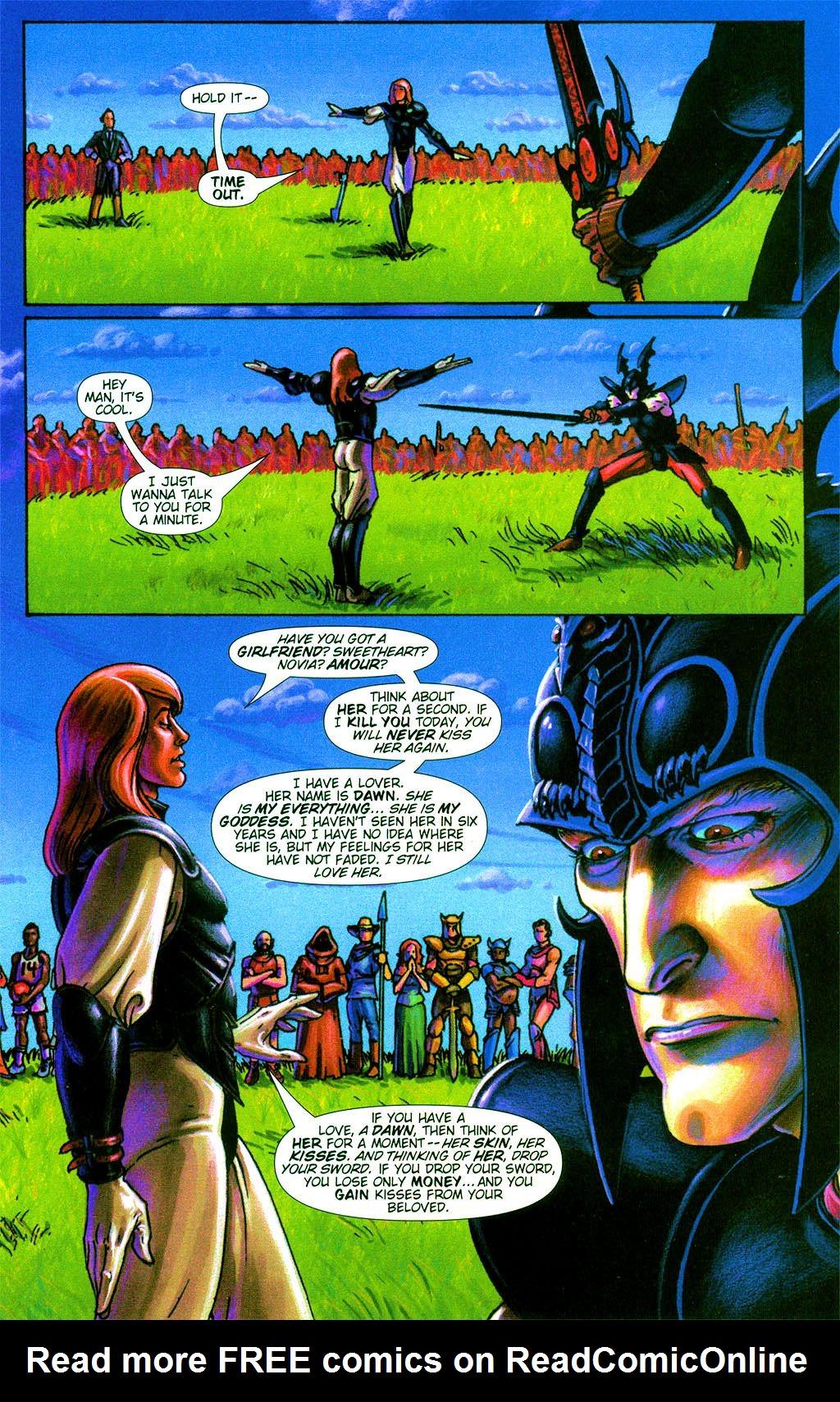Read online Dawn: Three Tiers comic -  Issue #2 - 6