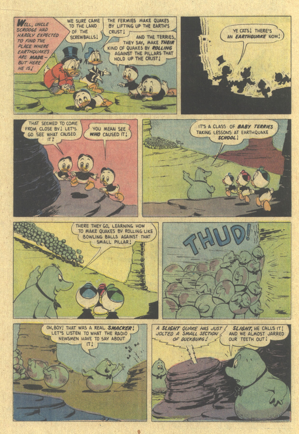 Read online Uncle Scrooge (1953) comic -  Issue #109 - 16