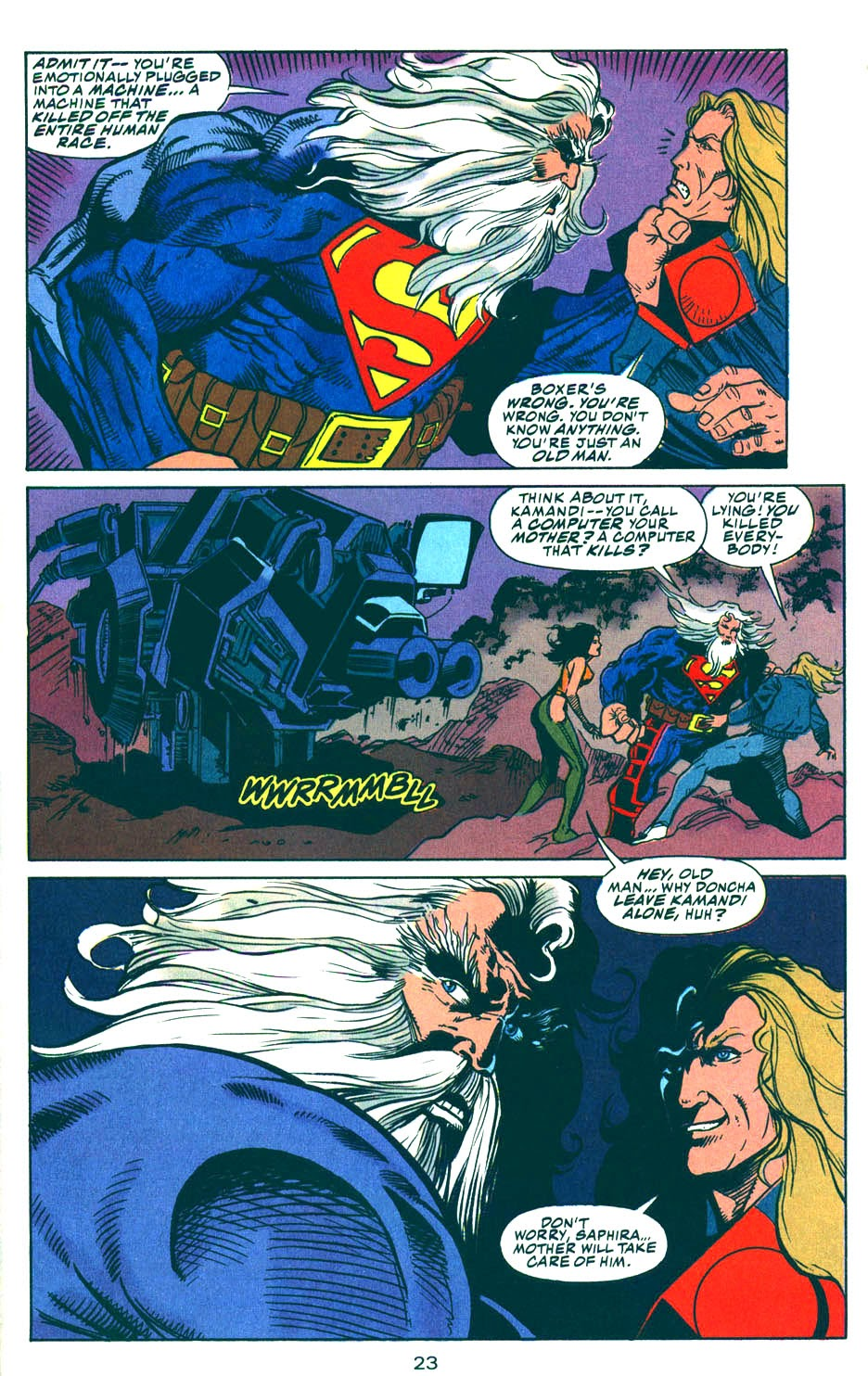 Read online Kamandi: At Earth's End comic -  Issue #5 - 24