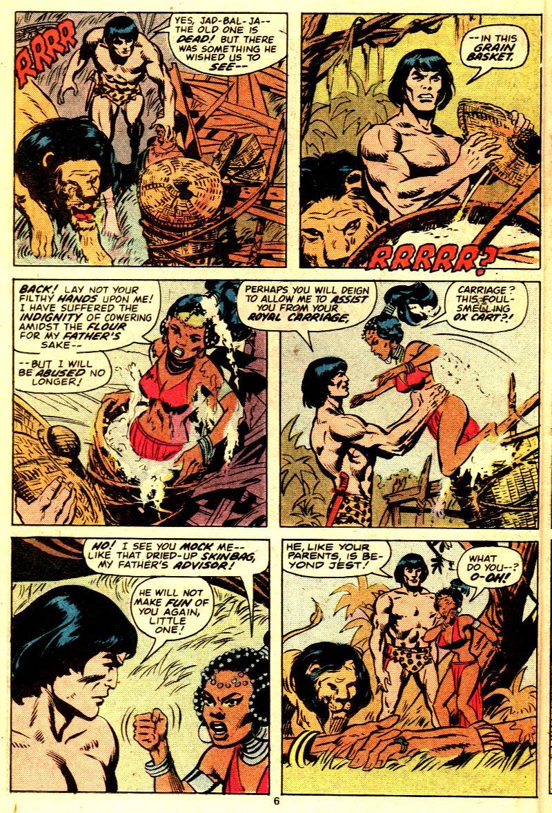 Read online Tarzan (1977) comic -  Issue # _Annual 2 - 5