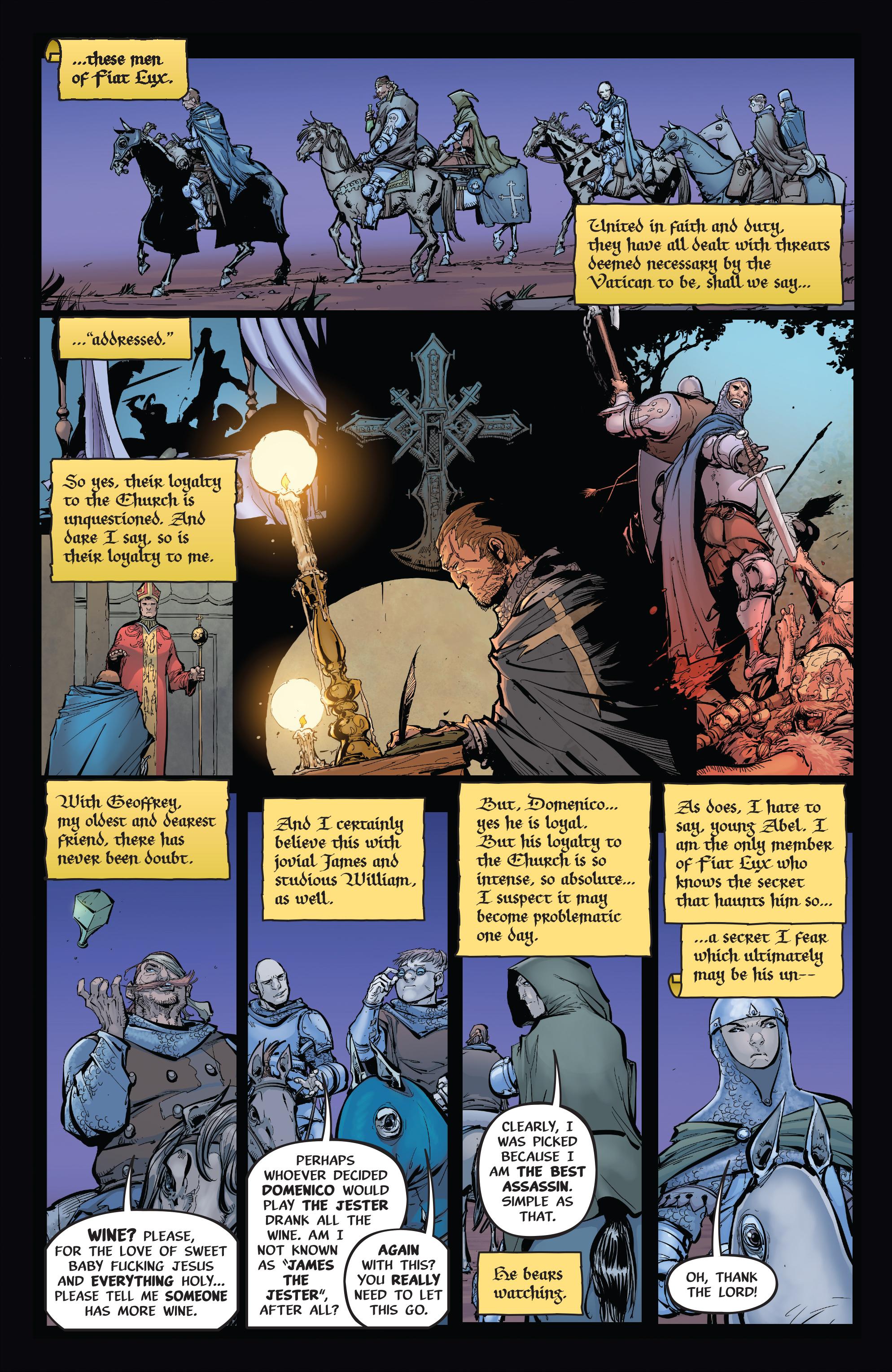 Read online Pestilence comic -  Issue #1 - 16