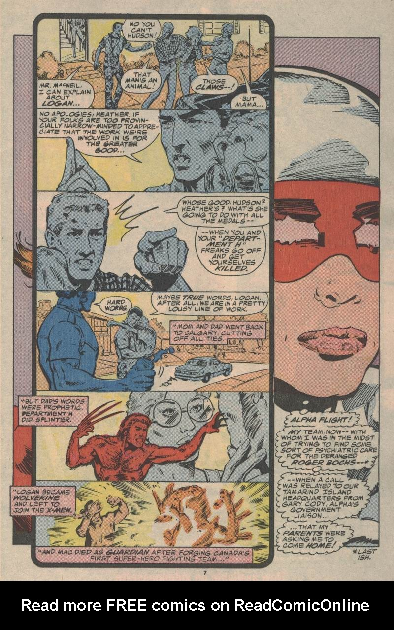 Read online Alpha Flight (1983) comic -  Issue #47 - 8