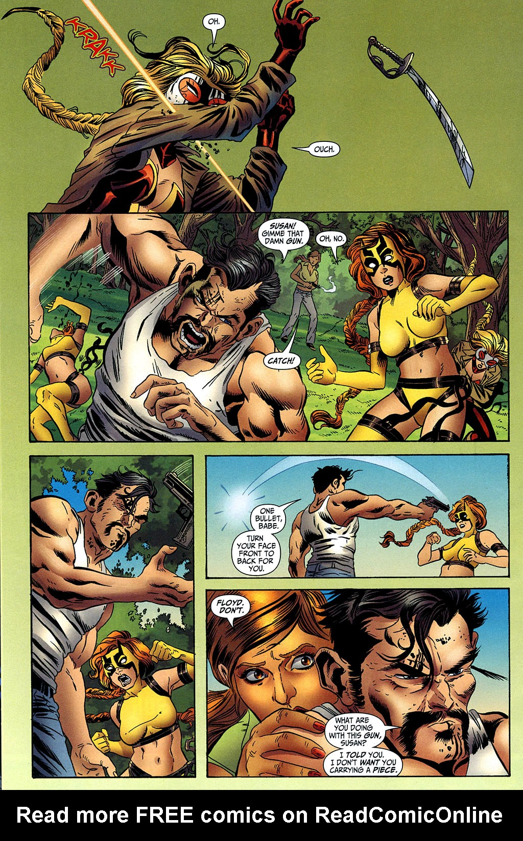 Read online Secret Six (2006) comic -  Issue #2 - 6
