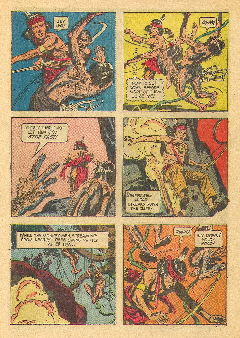 Read online Turok, Son of Stone comic -  Issue #39 - 12