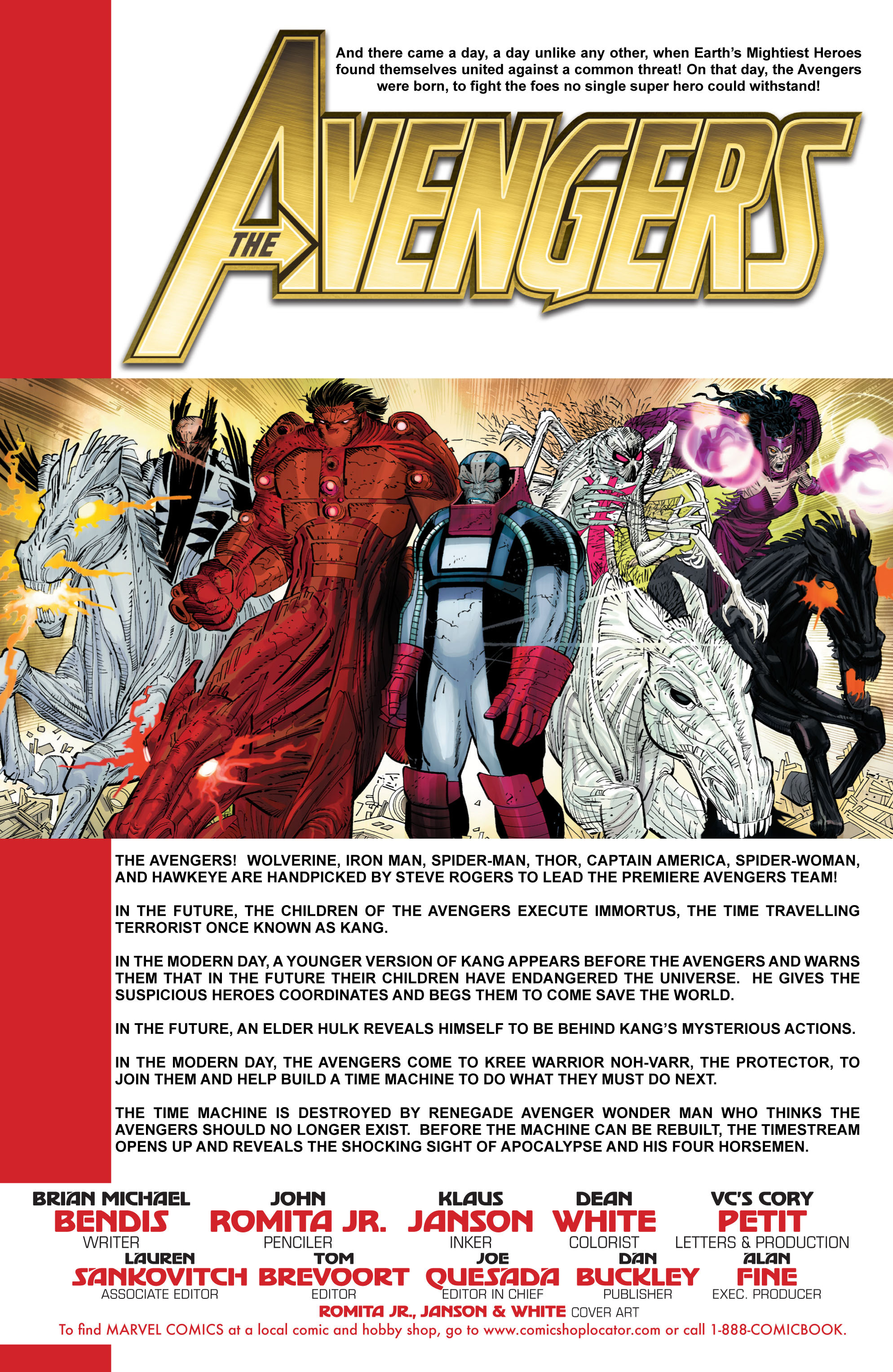 Read online Avengers (2010) comic -  Issue #3 - 2