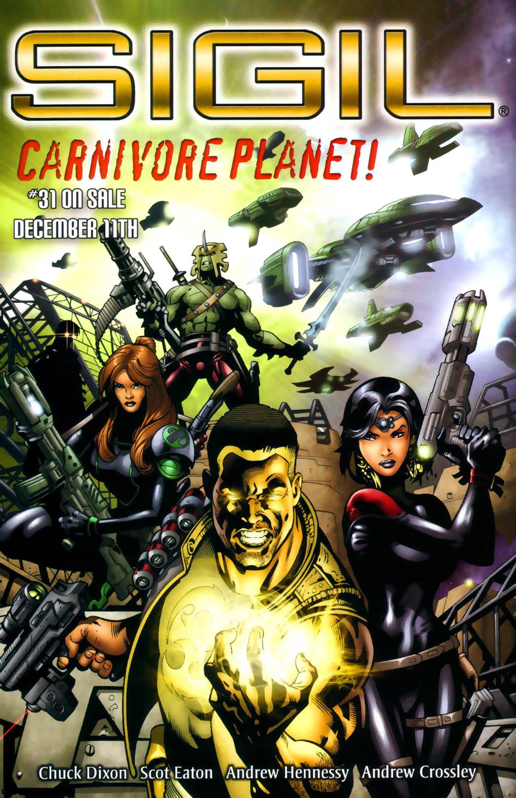 Read online Sigil (2000) comic -  Issue #30 - 27