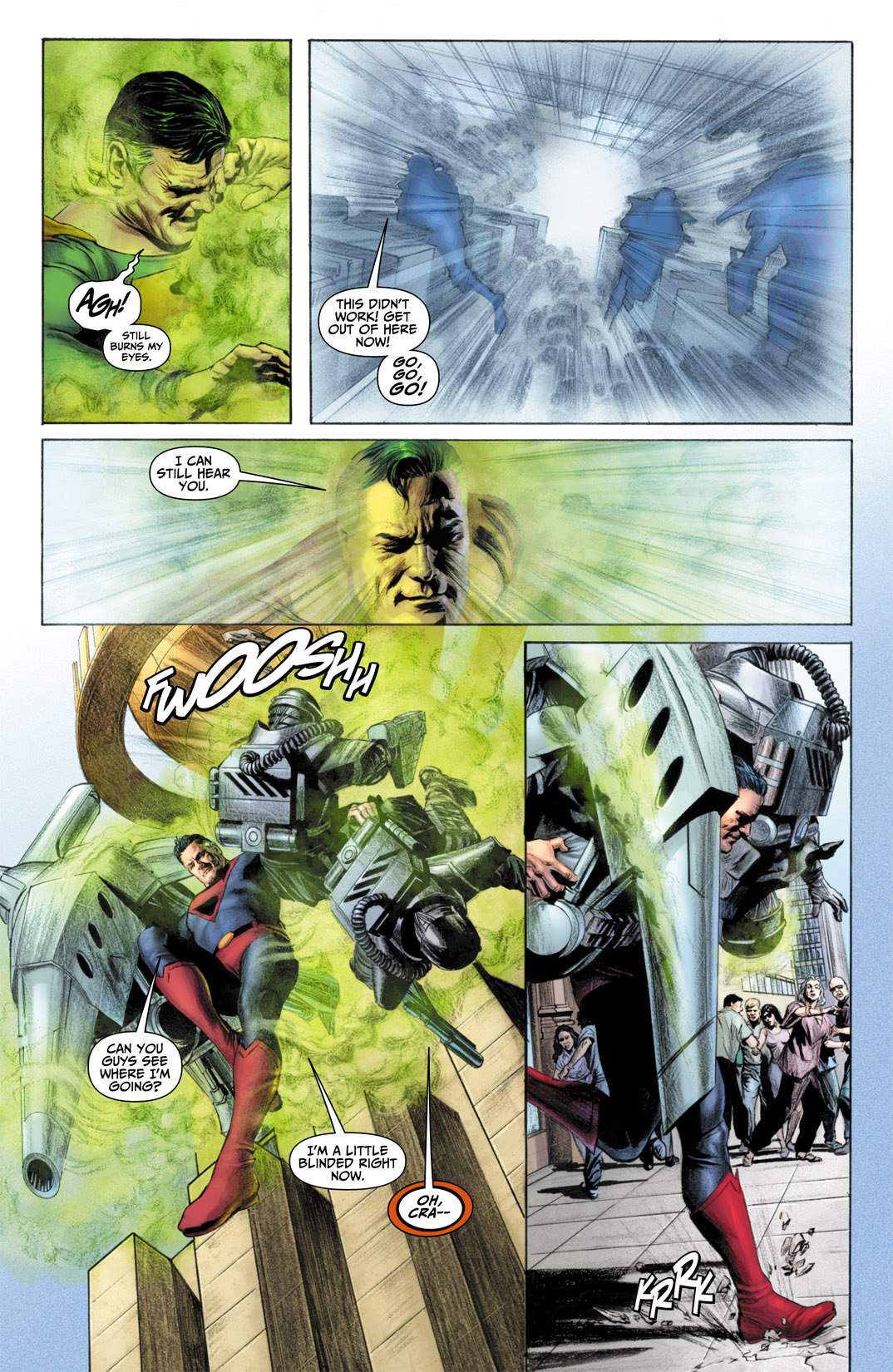 Read online JSA Kingdom Come Special: Superman comic -  Issue # Full - 11
