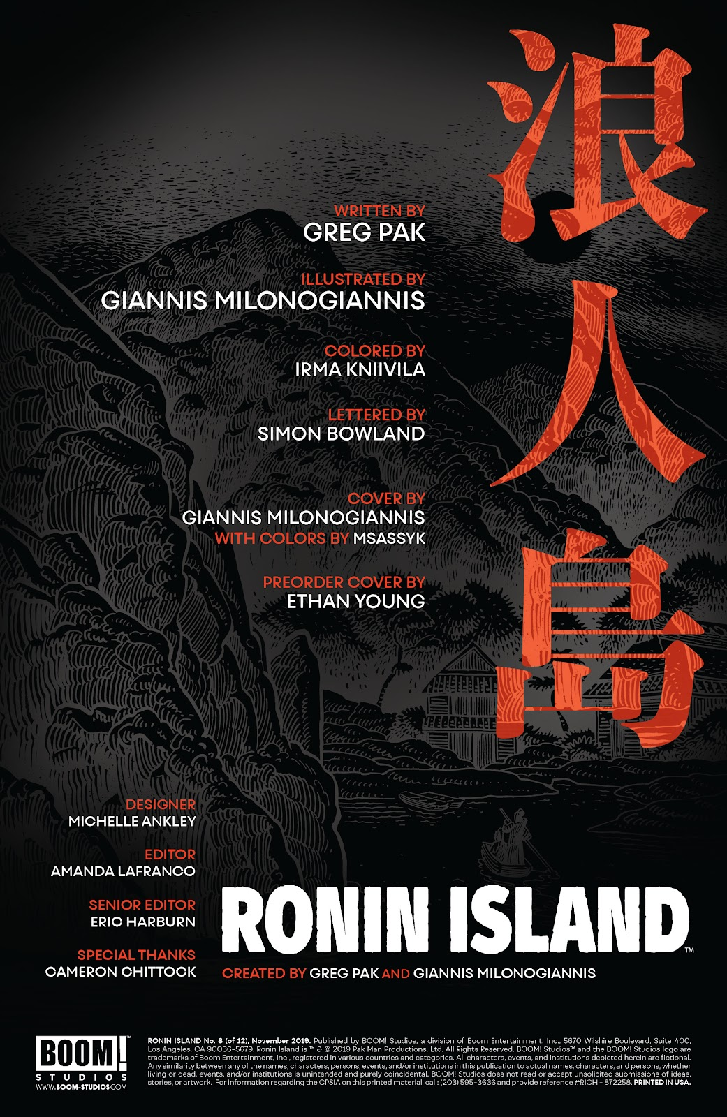 Read online Ronin Island comic -  Issue #8 - 2