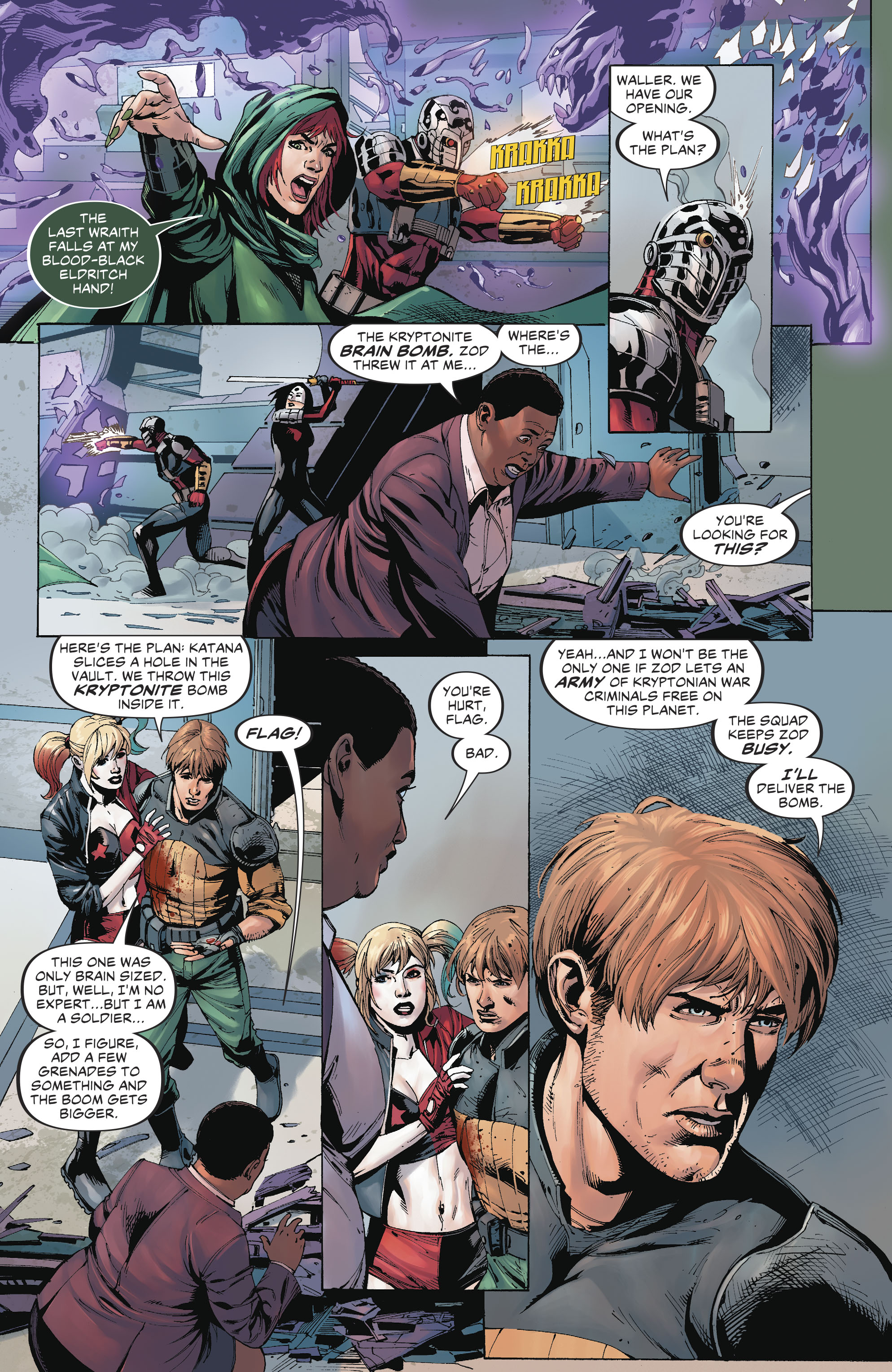 Read online Suicide Squad (2016) comic -  Issue #19 - 13