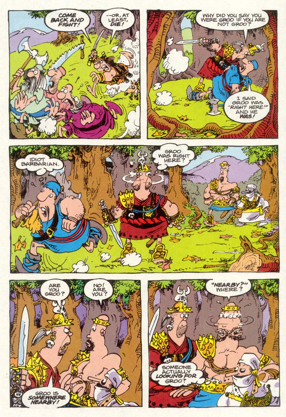 Read online Sergio Aragonés Groo the Wanderer comic -  Issue #91 - 16