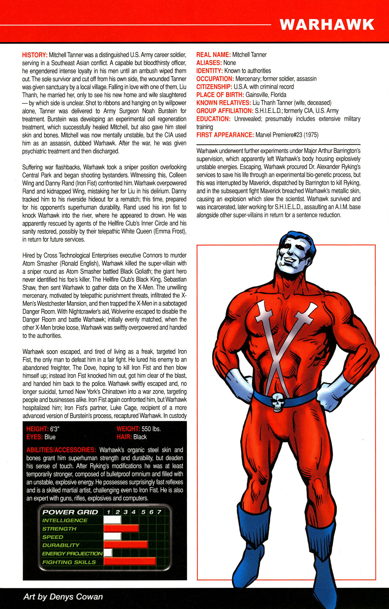 Read online All-New Official Handbook of the Marvel Universe A to Z comic -  Issue #12 - 25