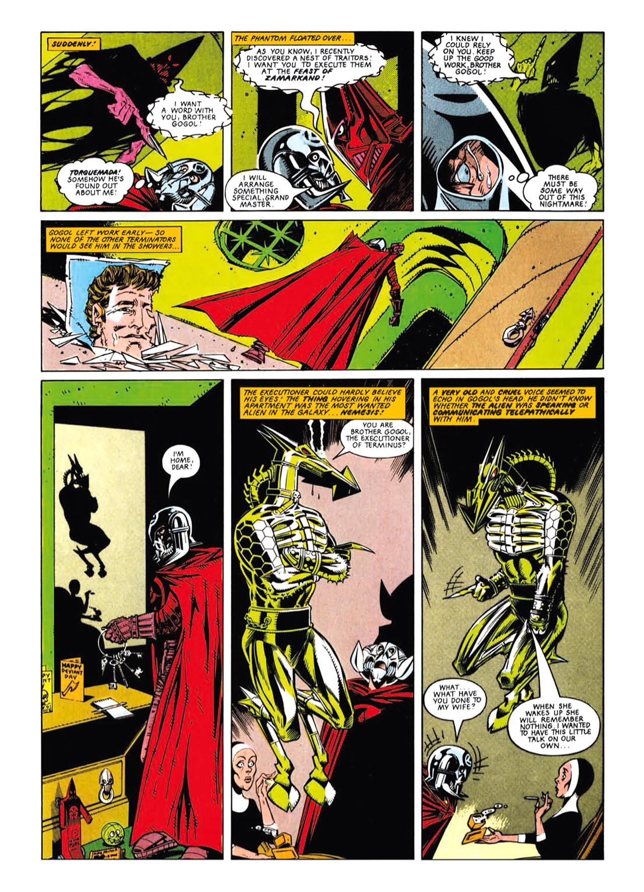 Read online Nemesis The Warlock comic -  Issue # TPB Deviant Edition - 45