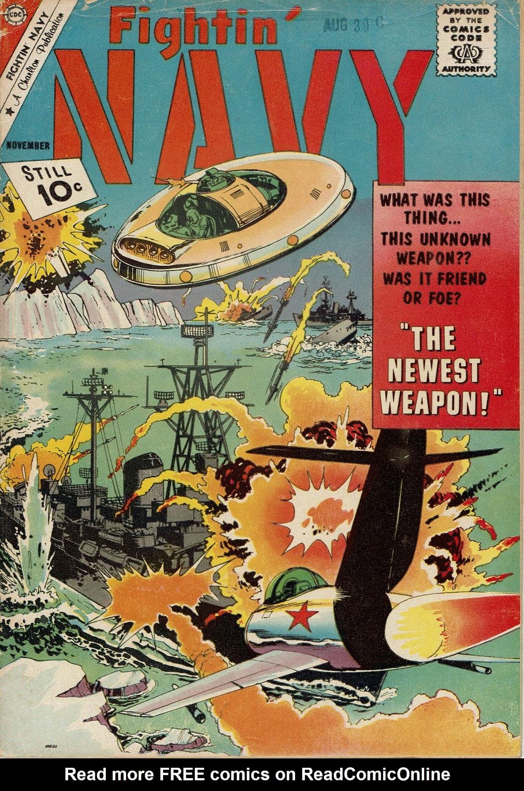 Read online Fightin' Navy comic -  Issue #101 - 1