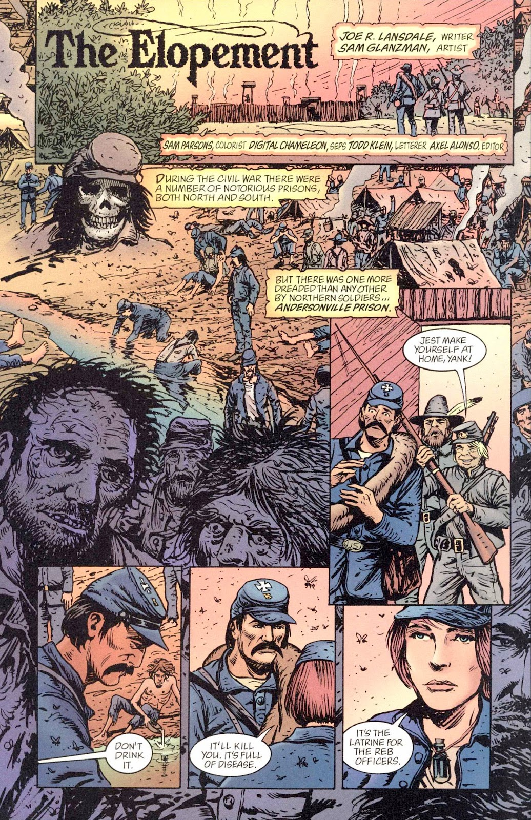 Read online Weird War Tales (1997) comic -  Issue #2 - 17