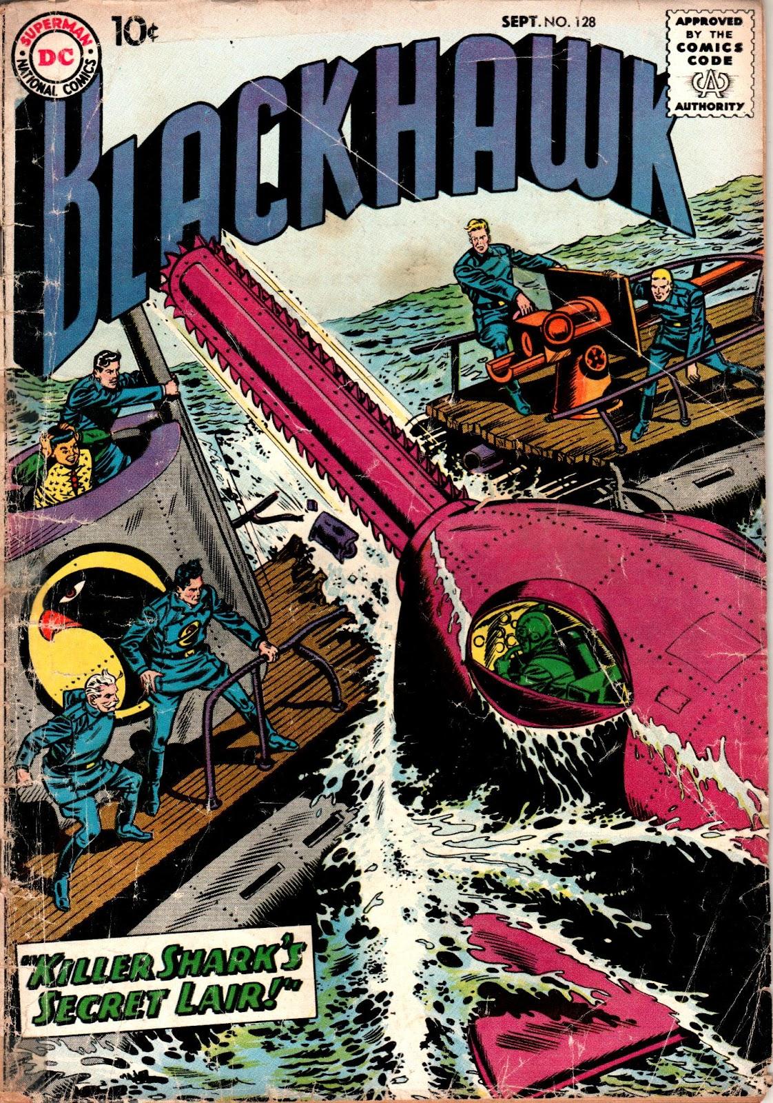 Blackhawk (1957) Issue #128 #21 - English 1