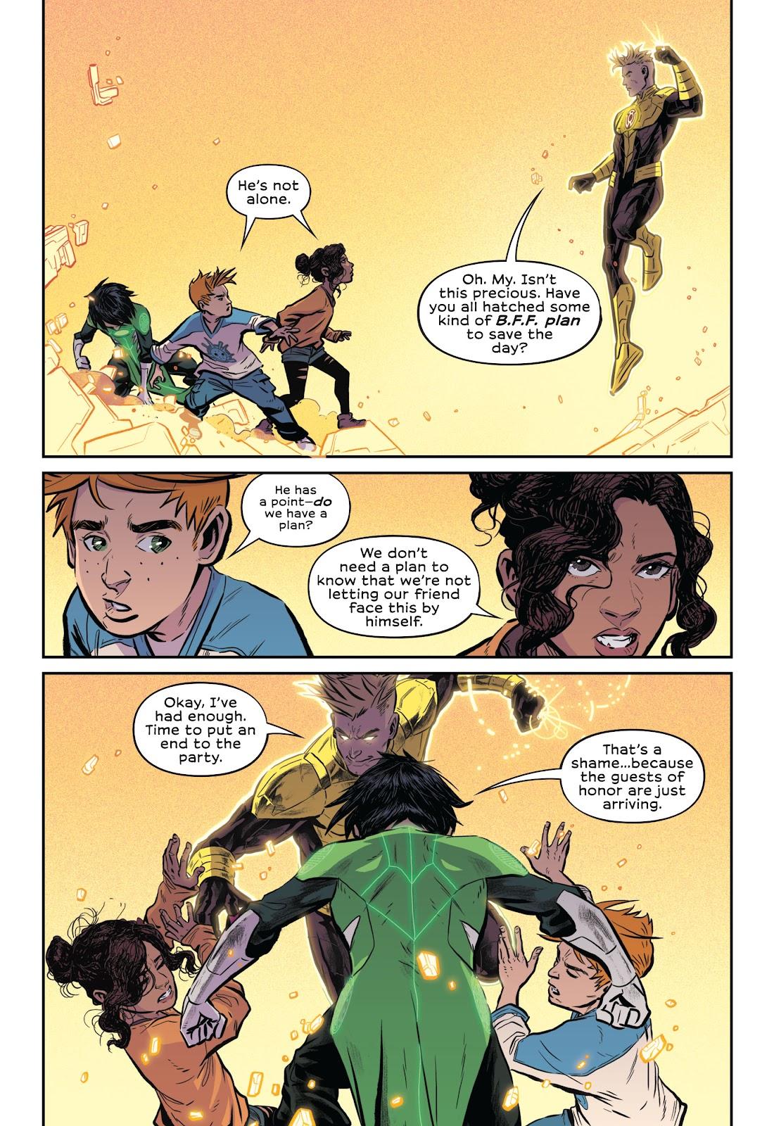 Read online Green Lantern: Legacy comic -  Issue # TPB - 116