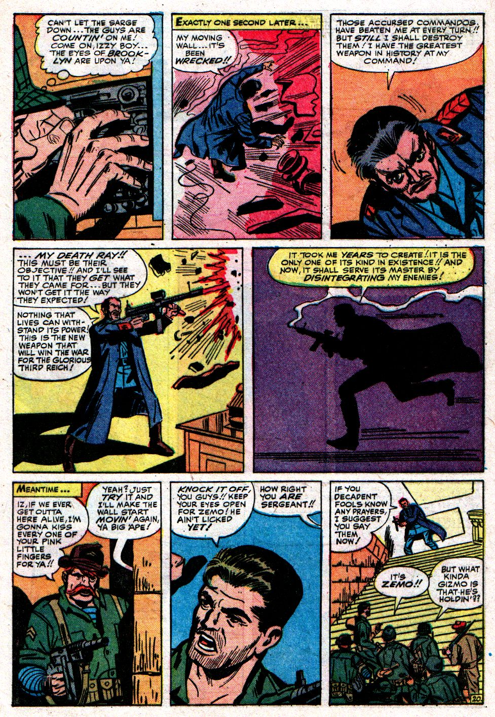 Read online Sgt. Fury comic -  Issue #8 - 29