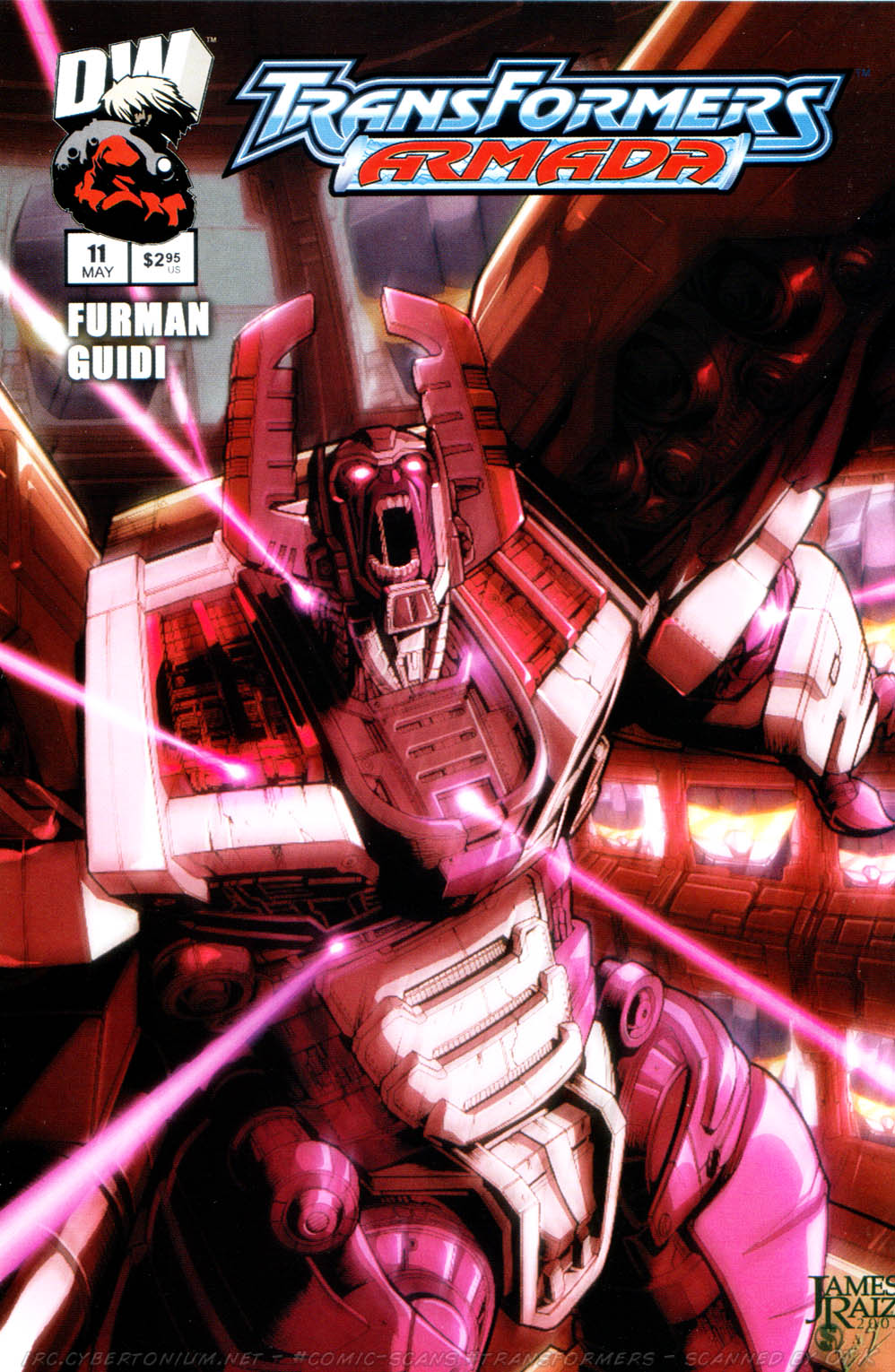 Read online Transformers Armada comic -  Issue #11 - 1