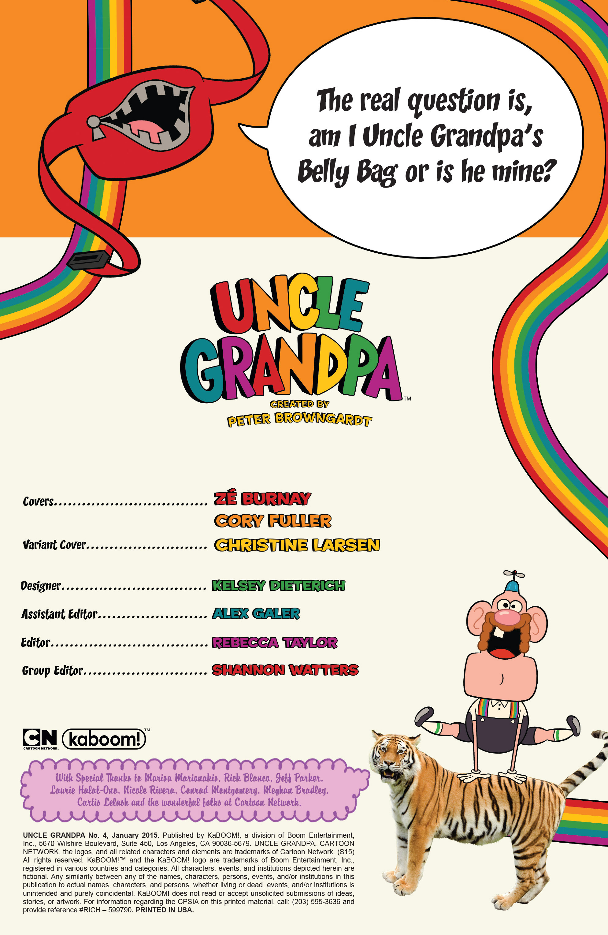 Read online Uncle Grandpa comic -  Issue #4 - 2