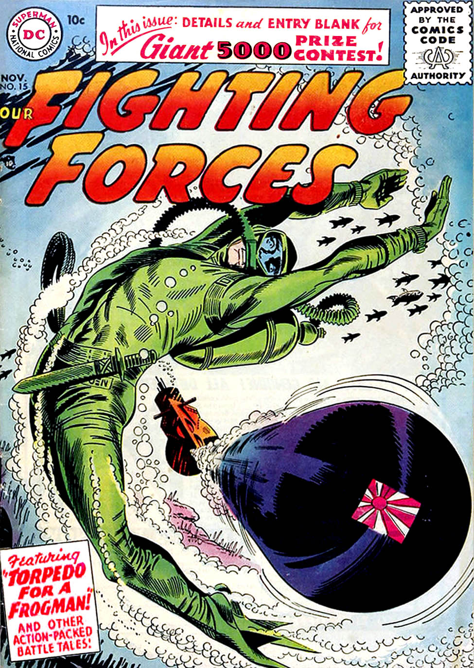 Our Fighting Forces (1954) issue 15 - Page 1