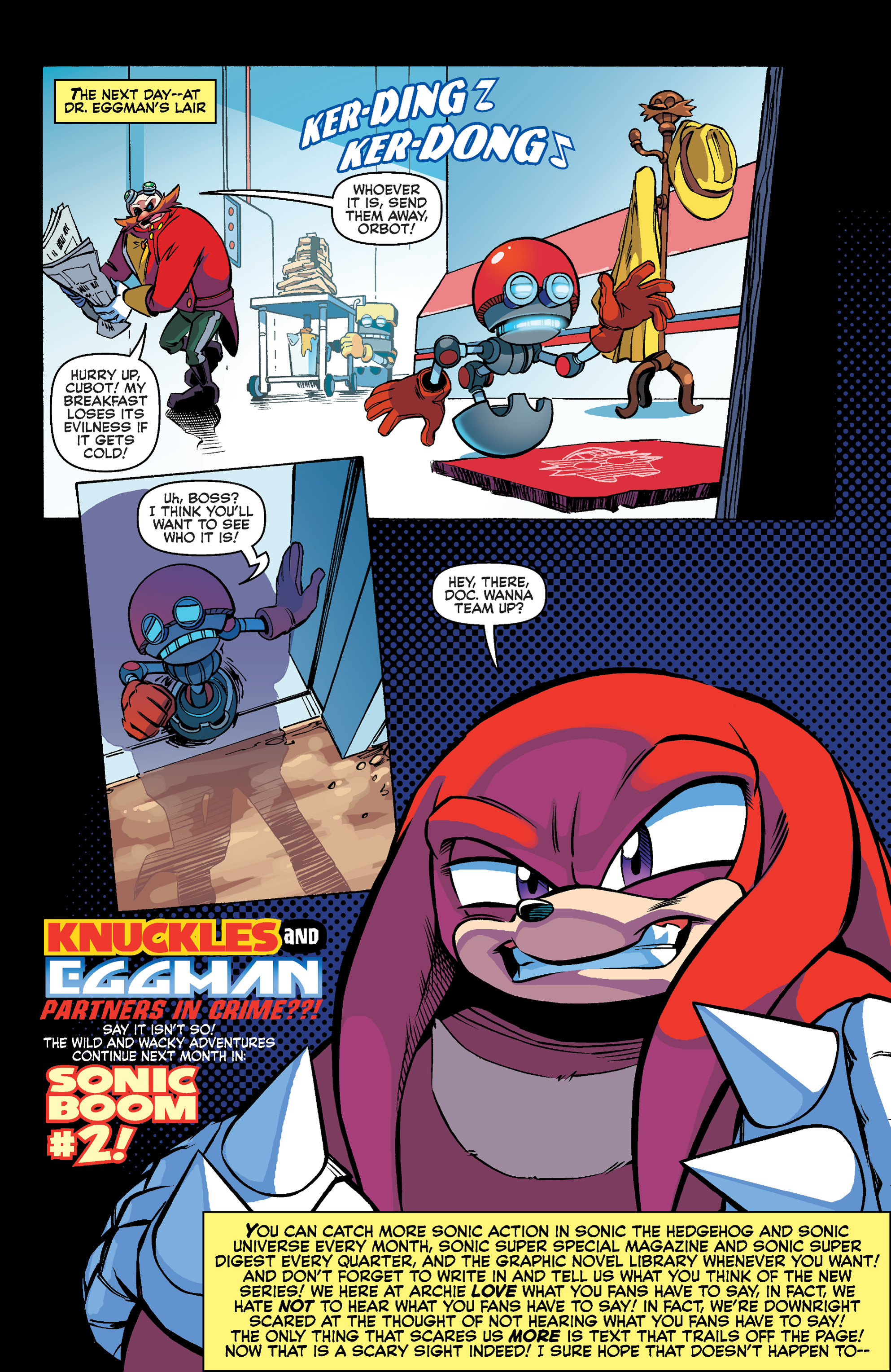 Read online Sonic Boom comic -  Issue #1 - 22