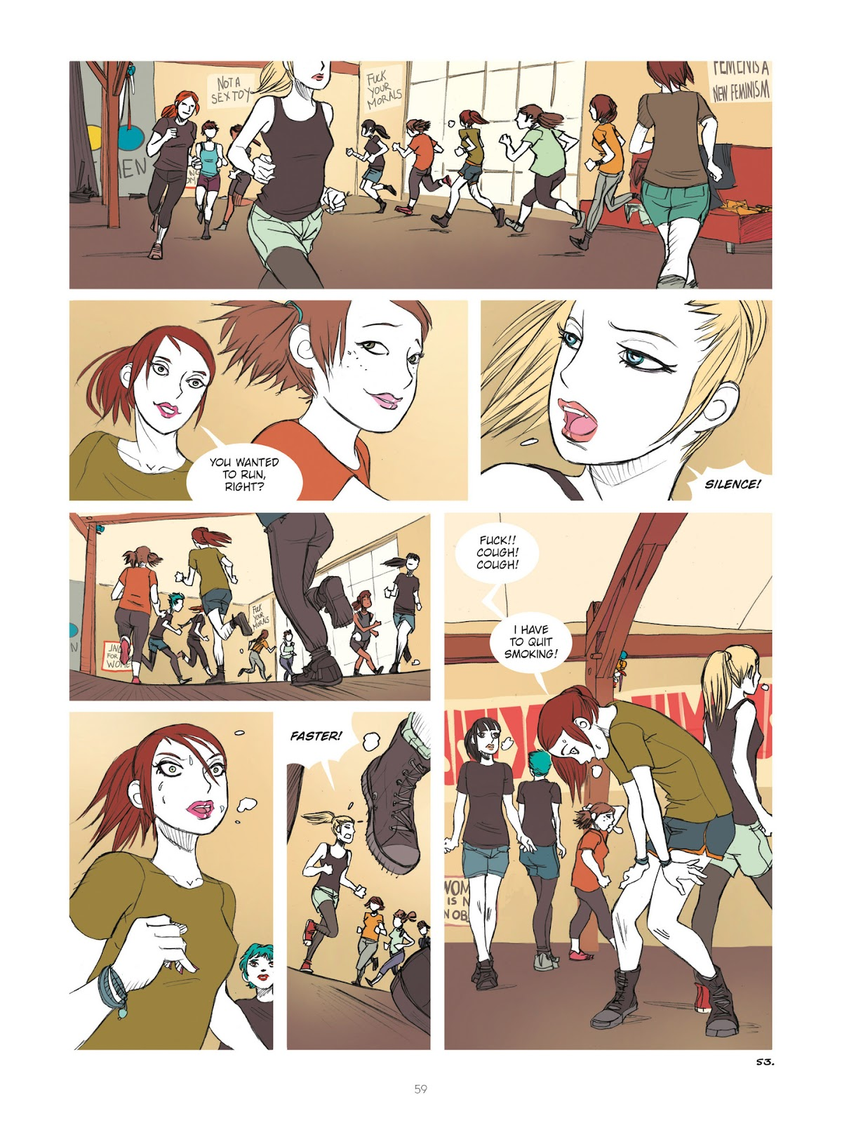 Read online Diary of A Femen comic -  Issue # TPB - 61
