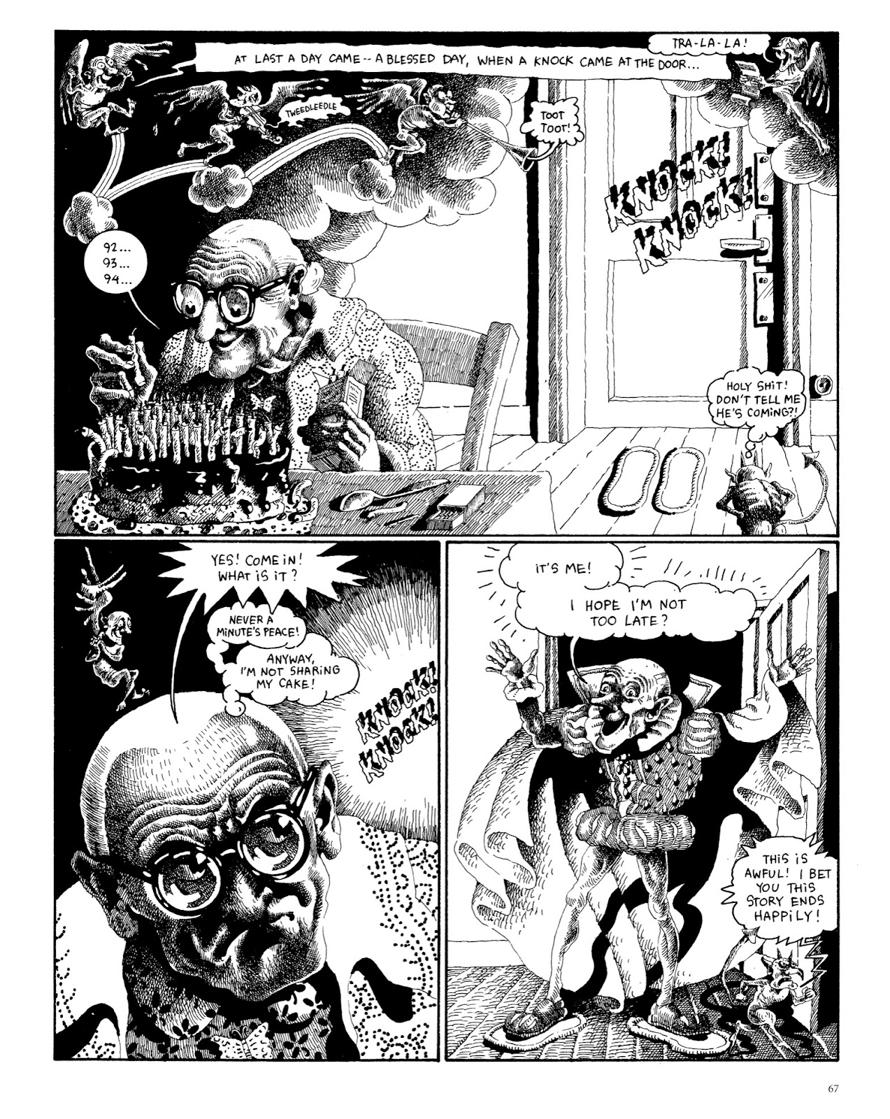 Read online The Green Hand and Other Stories comic -  Issue # TPB - 65