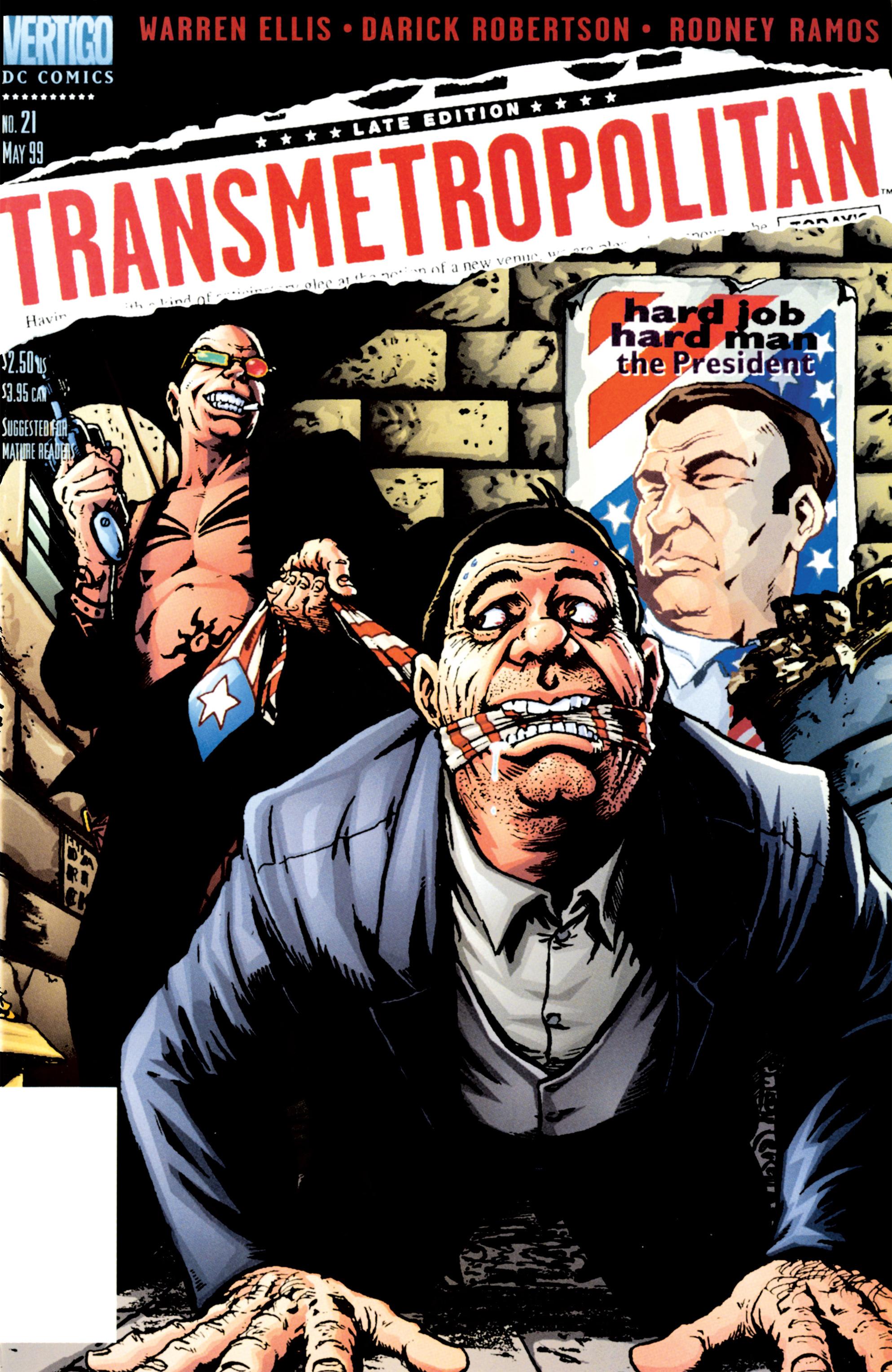 Transmetropolitan issue 21 - Page 1