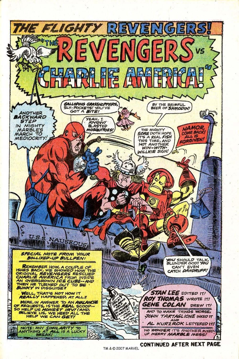 Read online Captain America (1968) comic -  Issue # _Annual 2 - 41
