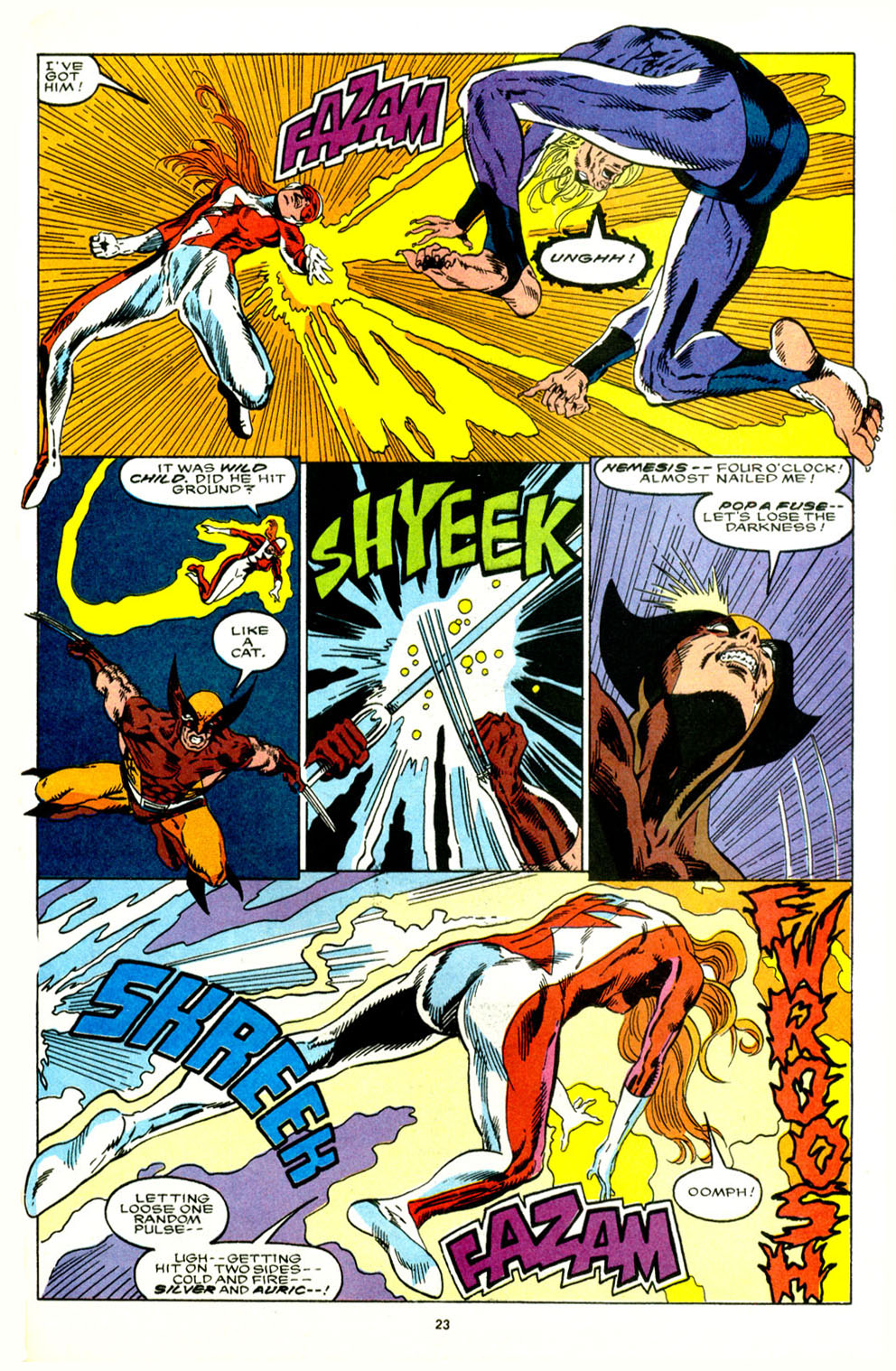 Read online Alpha Flight (1983) comic -  Issue #89 - 19