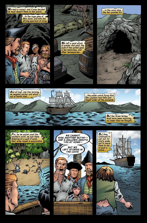 Read online Treasure Island comic -  Issue #6 - 19