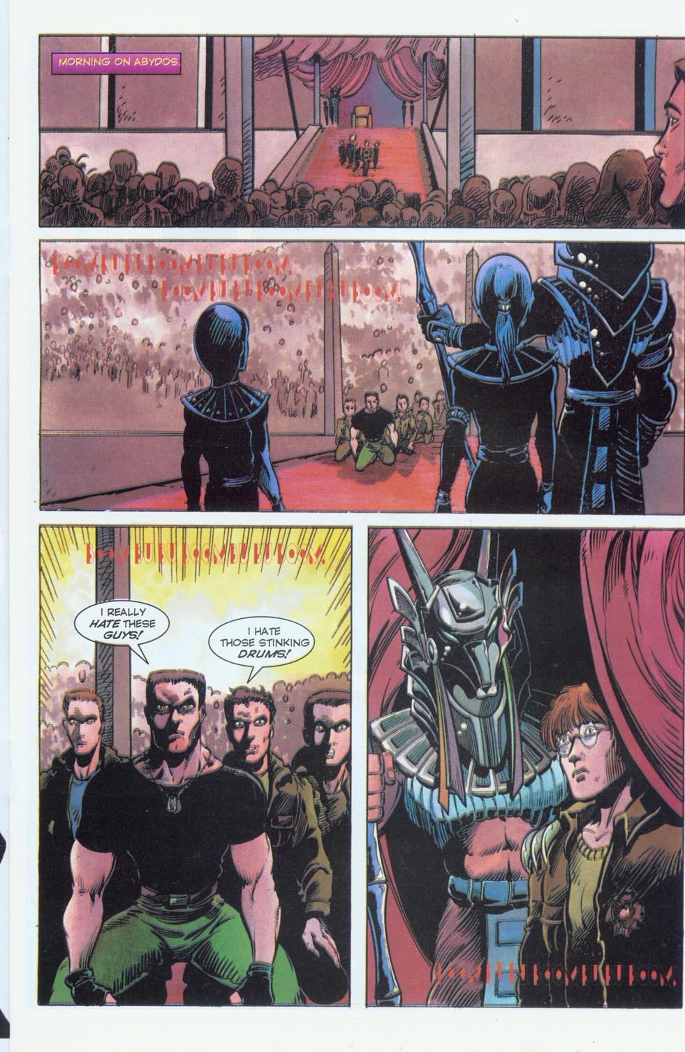 Read online Stargate comic -  Issue #3 - 15