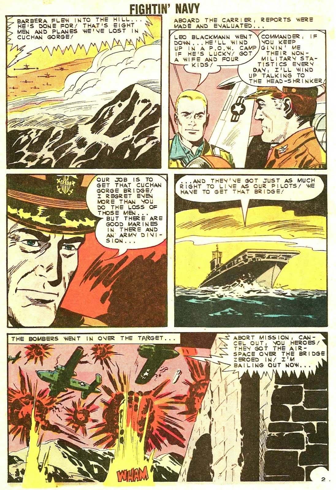 Read online Fightin' Navy comic -  Issue #110 - 28