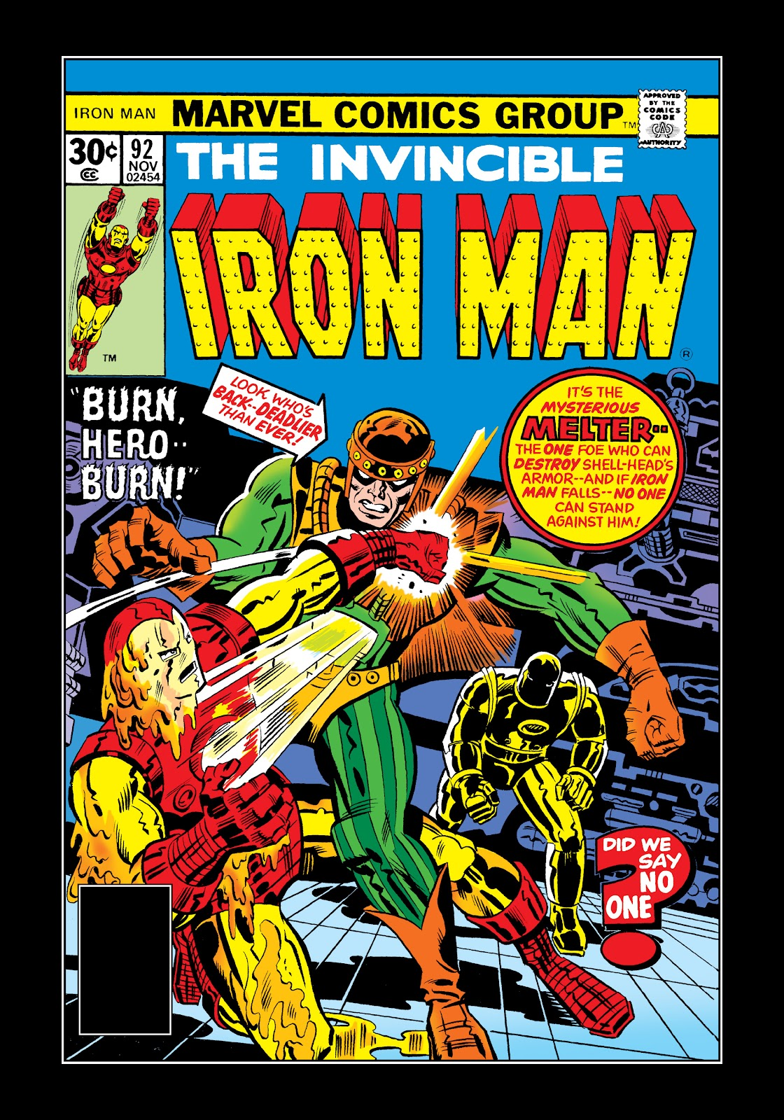 Read online Marvel Masterworks: The Invincible Iron Man comic -  Issue # TPB 11 (Part 3) - 29