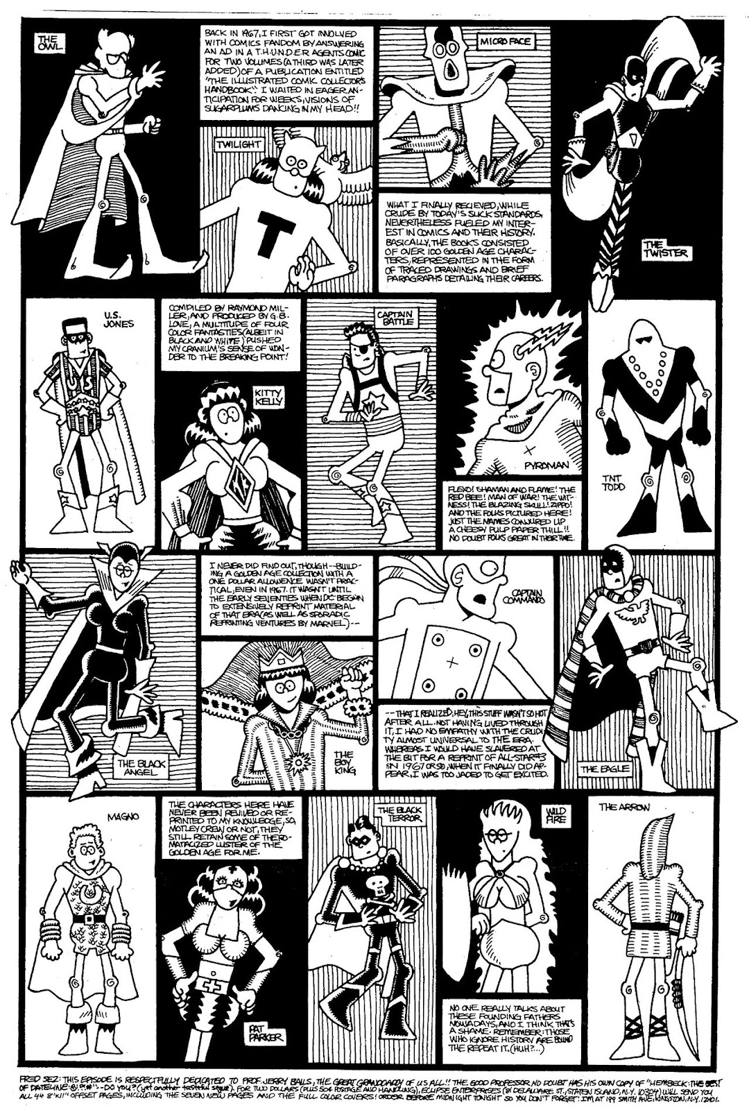 Read online The Nearly Complete Essential Hembeck Archives Omnibus comic -  Issue # TPB (Part 4) - 34