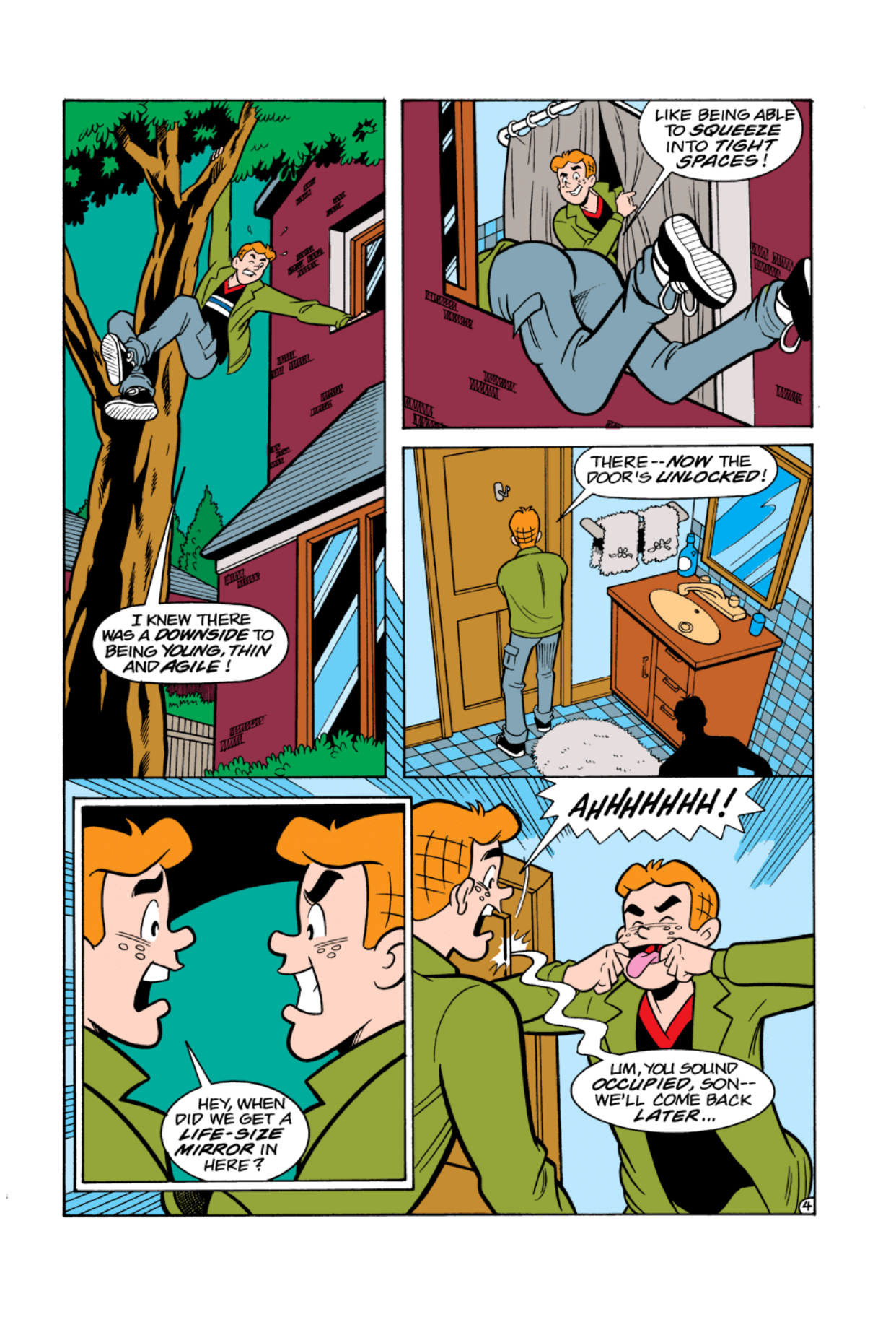 Read online Archie's Weird Mysteries comic -  Issue #4 - 6