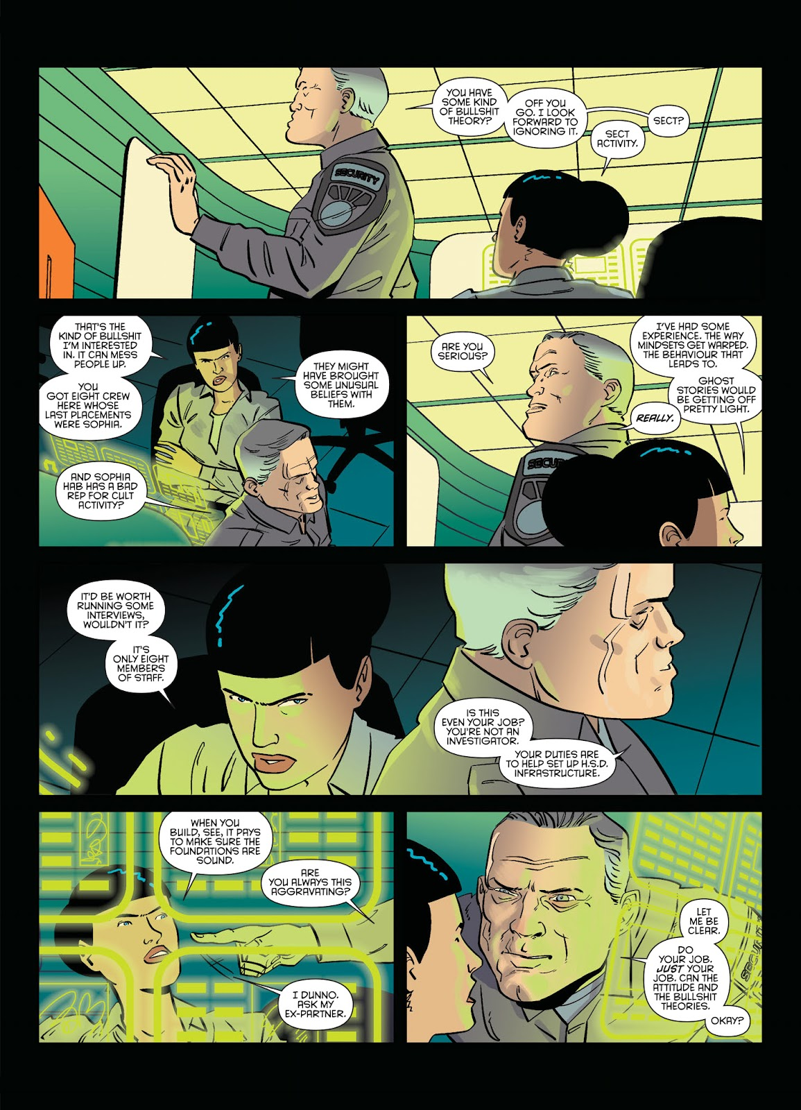 Read online Brink comic -  Issue # TPB 2 - 22