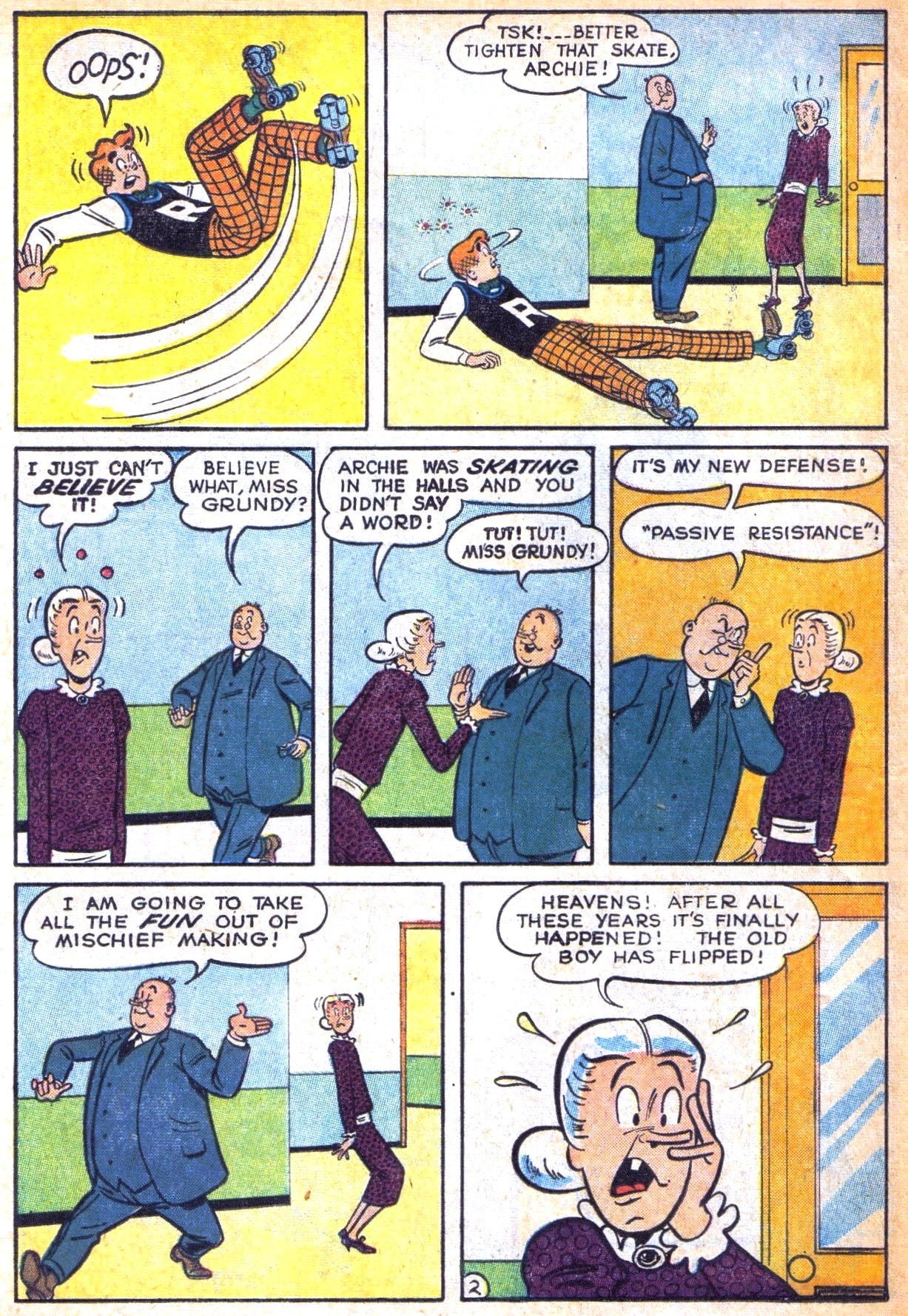 Read online Archie (1960) comic -  Issue #129 - 14