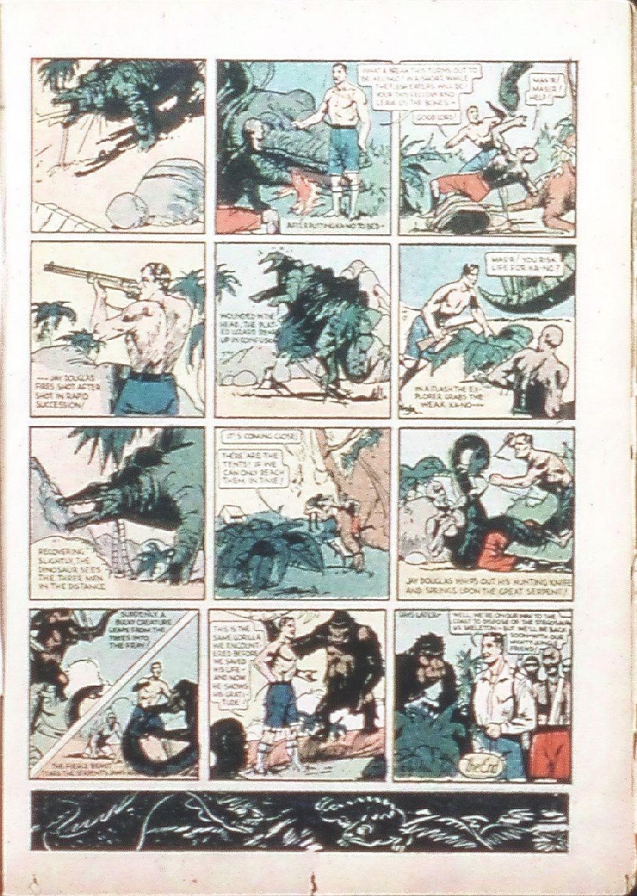 Read online Amazing Man Comics comic -  Issue #9 - 20