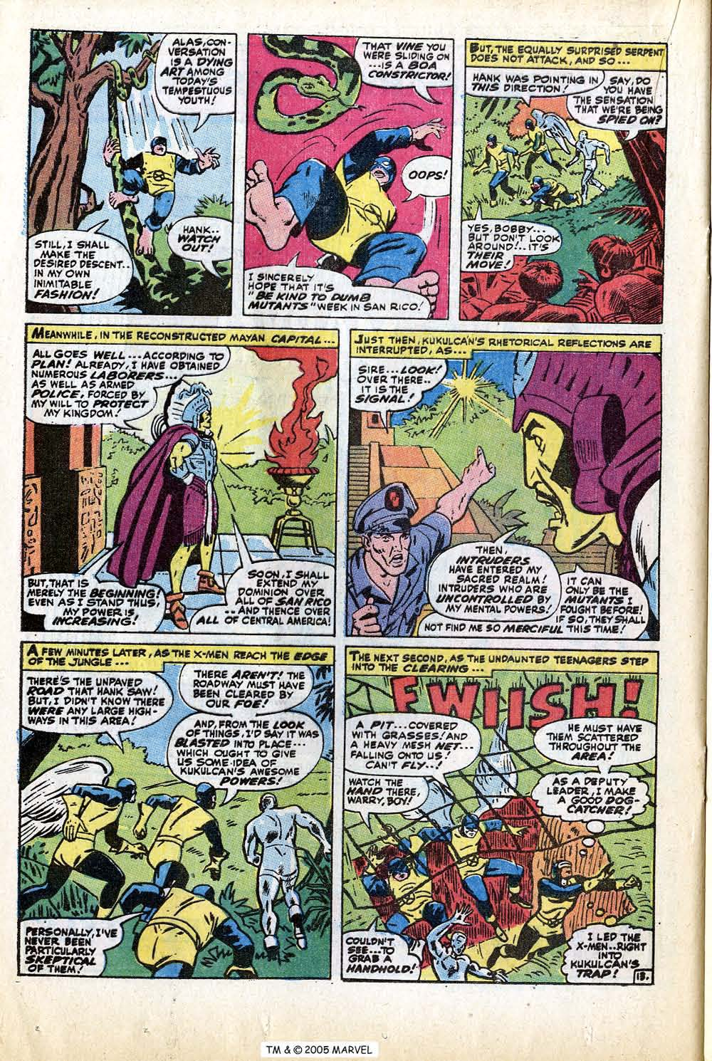 Read online Uncanny X-Men (1963) comic -  Issue #74 - 20