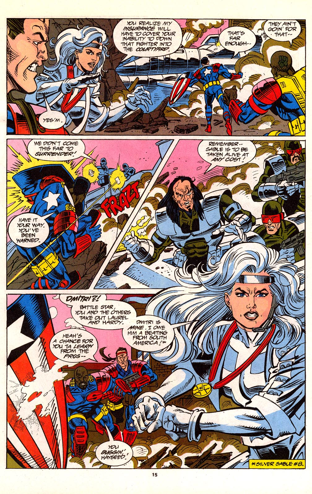 Read online Silver Sable and the Wild Pack comic -  Issue #24 - 12