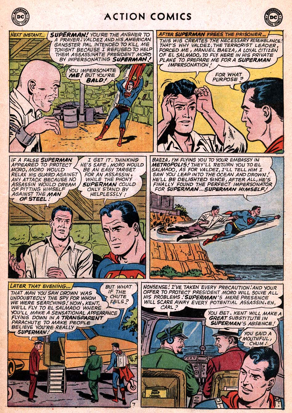 Read online Action Comics (1938) comic -  Issue #306 - 8