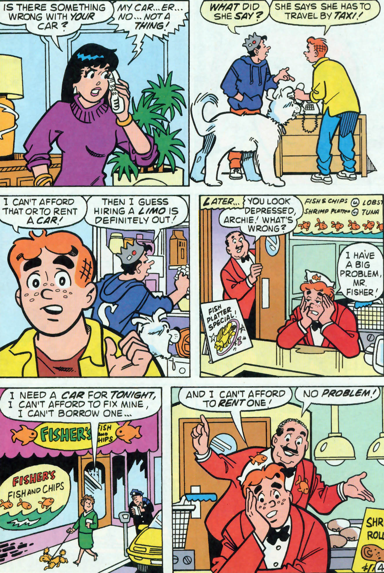 Read online Archie (1960) comic -  Issue #455 - 5